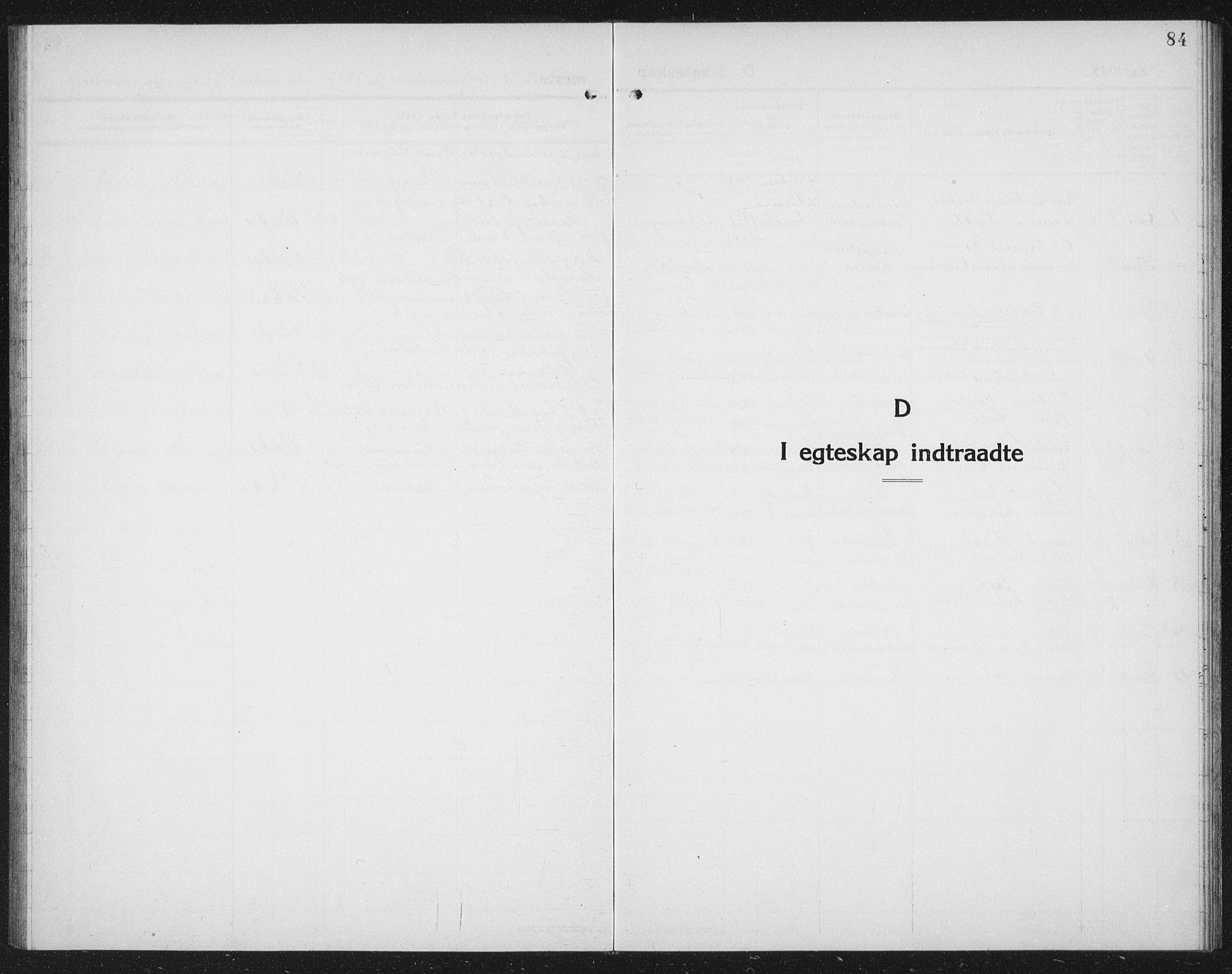 SAT, Ministerialprotokoller, klokkerbøker og fødselsregistre - Nord-Trøndelag, 730/L0303: Parish register (copy) no. 730C06, 1924-1933, p. 84