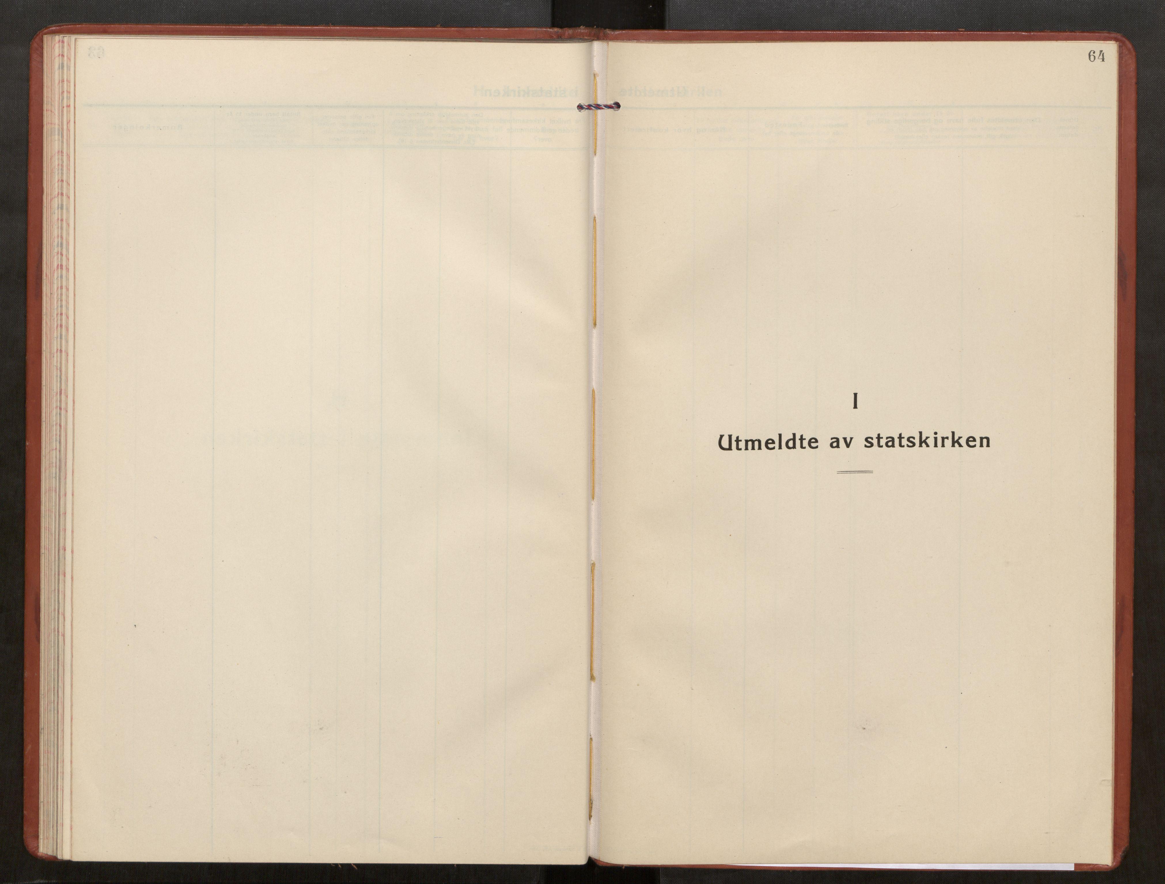 SAT, Kolvereid sokneprestkontor, H/Ha/Haa/L0003: Parish register (official) no. 3, 1927-1935, p. 64