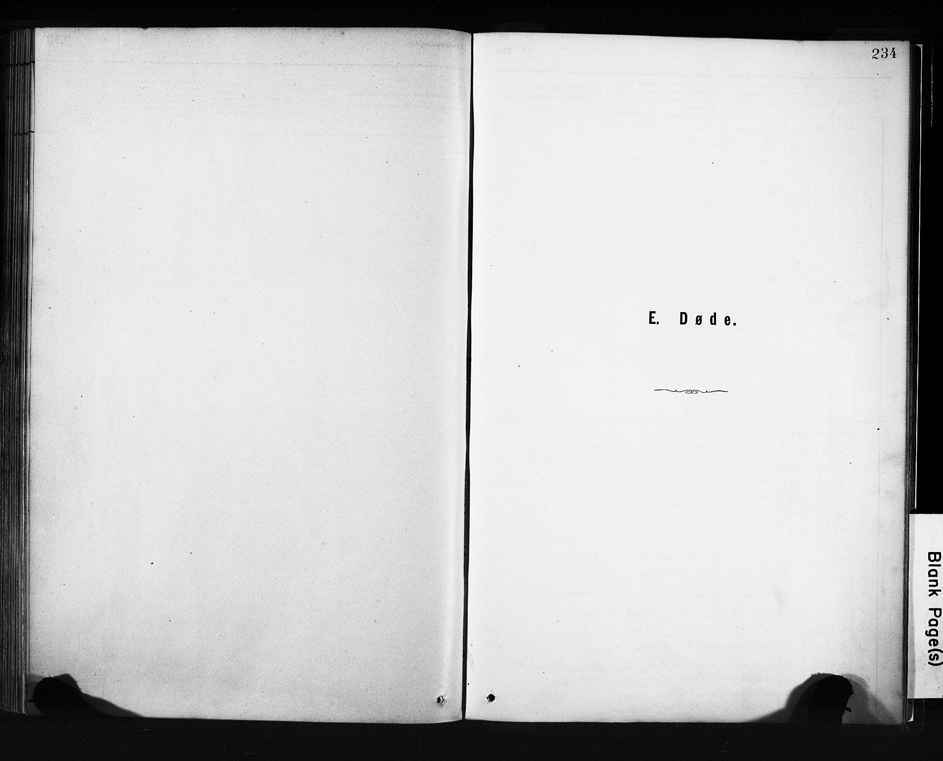 SAB, Evanger sokneprestembete*, Parish register (official) no. A 1, 1877-1899, p. 234