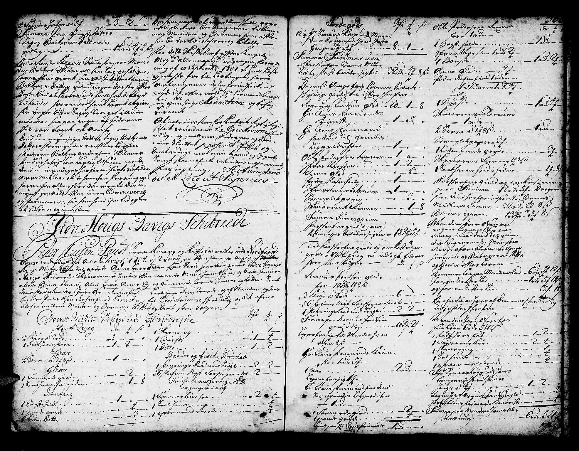 SAB, Nordfjord sorenskriveri, 04/04a/L0002b: Skifteprotokollar, 1702-1704, p. 365b-366a
