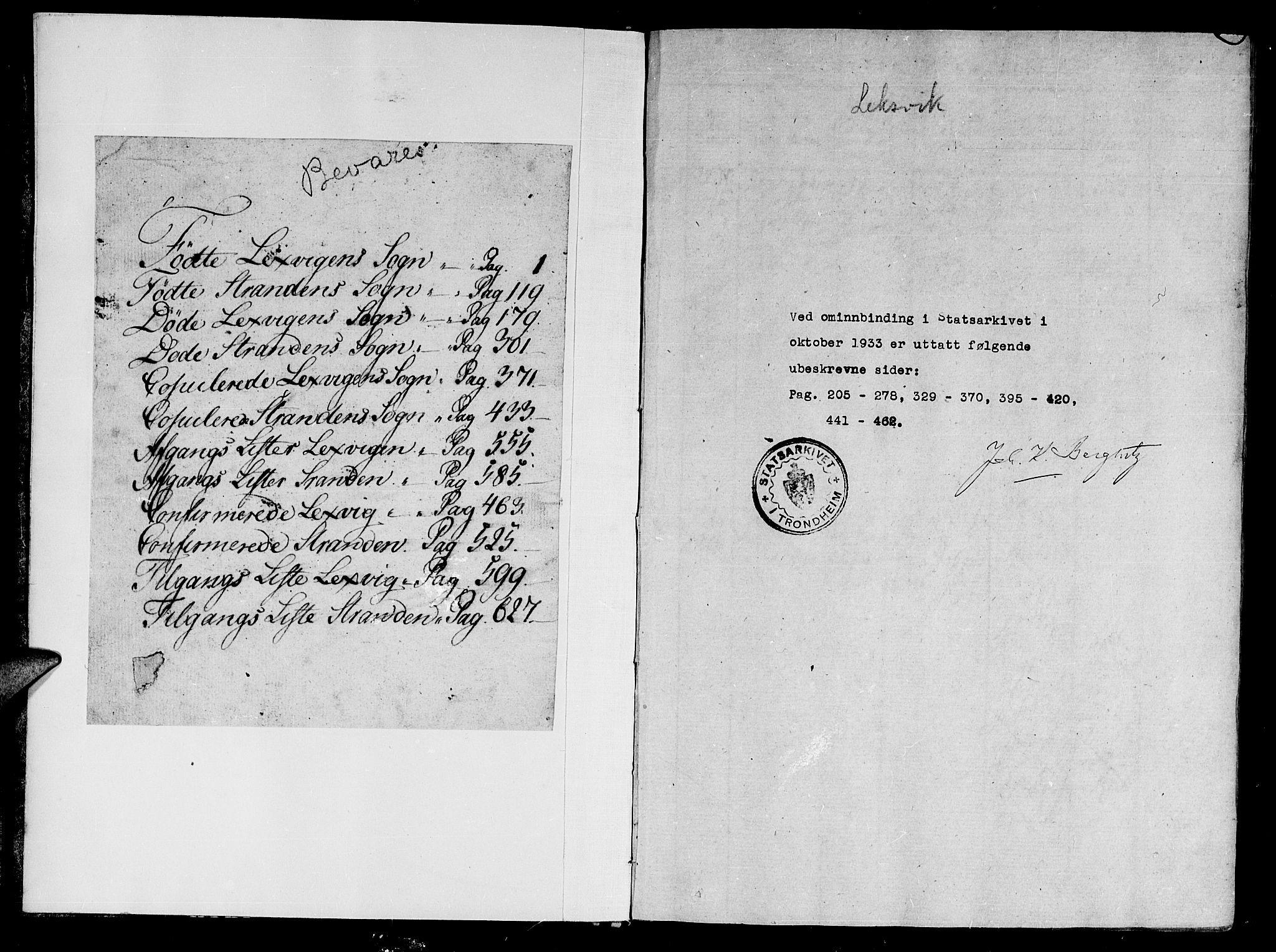 SAT, Ministerialprotokoller, klokkerbøker og fødselsregistre - Nord-Trøndelag, 701/L0005: Parish register (official) no. 701A05 /2, 1816-1825