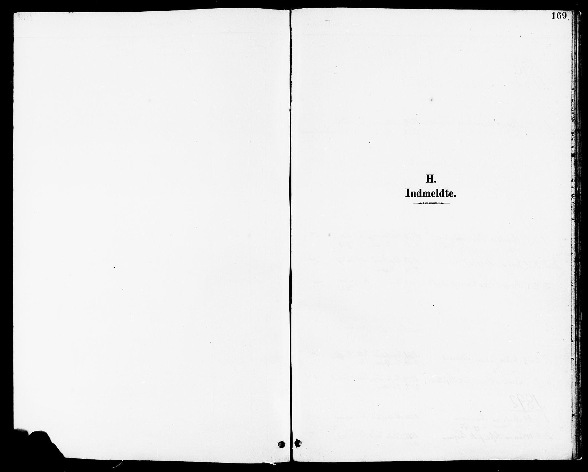 SAST, Høyland sokneprestkontor, 30BA/L0014: Parish register (official) no. A 12, 1890-1898, p. 169