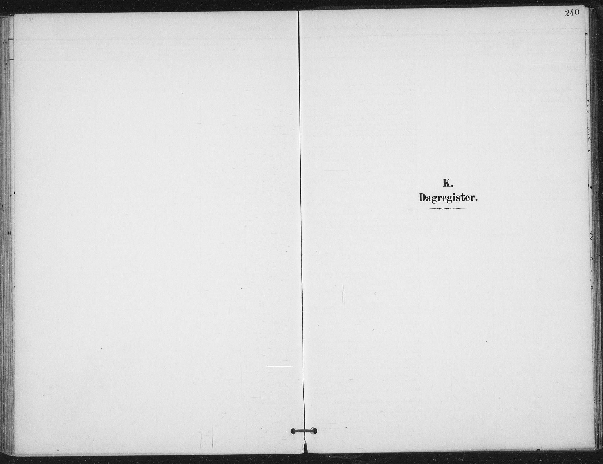 SAT, Ministerialprotokoller, klokkerbøker og fødselsregistre - Nord-Trøndelag, 703/L0031: Parish register (official) no. 703A04, 1893-1914, p. 240
