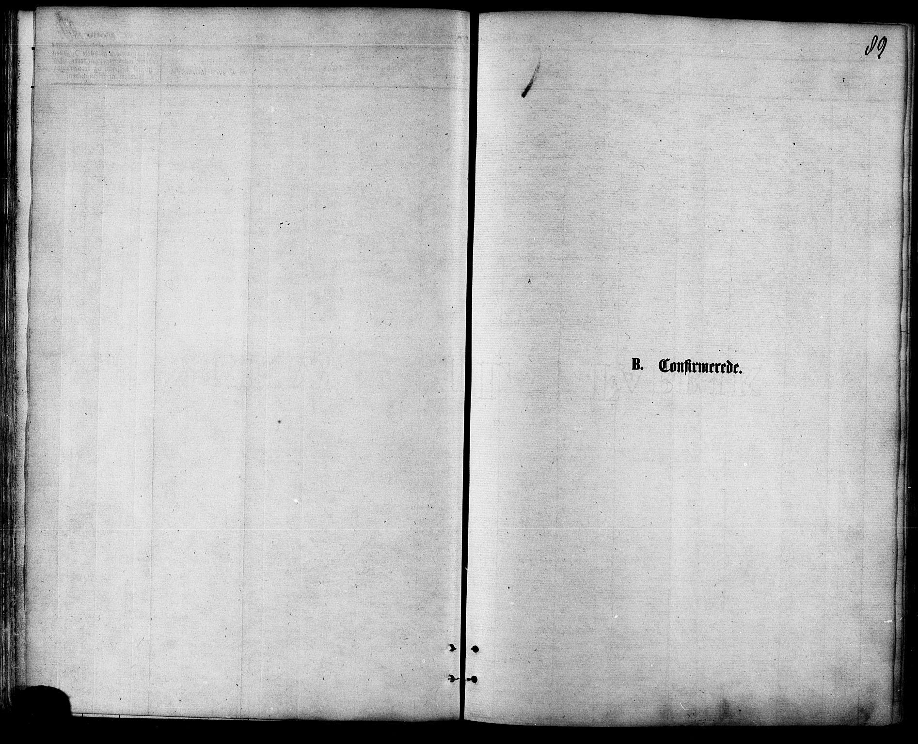 SATØ, Balsfjord sokneprestembete, Parish register (official) no. 4, 1871-1883, p. 89