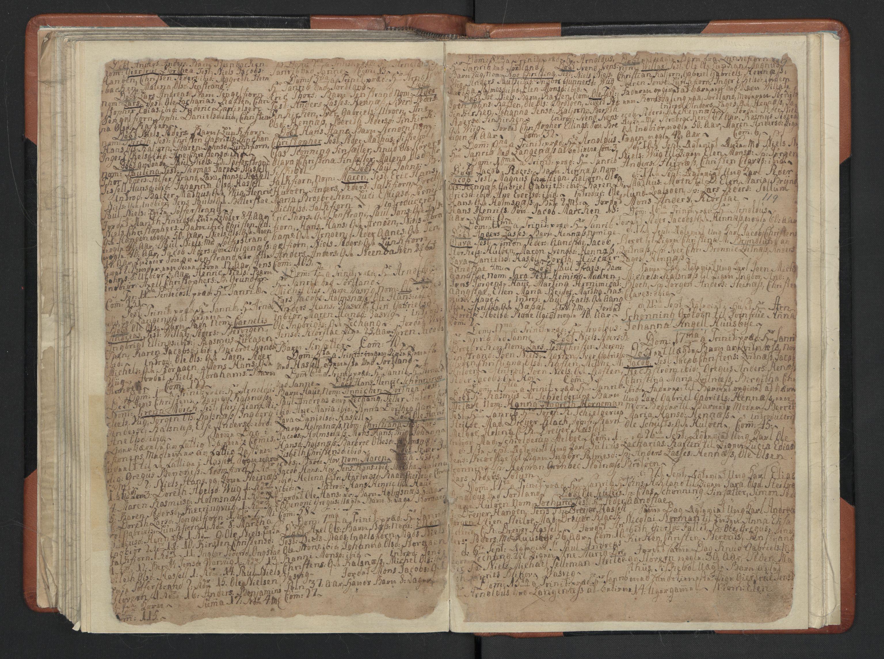 SAT, Ministerialprotokoller, klokkerbøker og fødselsregistre - Nordland, 888/L1233: Parish register (official) no. 888A02, 1754-1811, p. 132