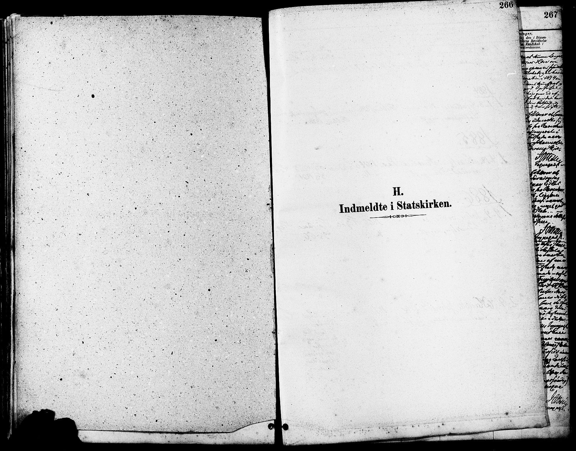 SAST, Høyland sokneprestkontor, 30BA/L0011: Parish register (official) no. A 10, 1878-1888, p. 266