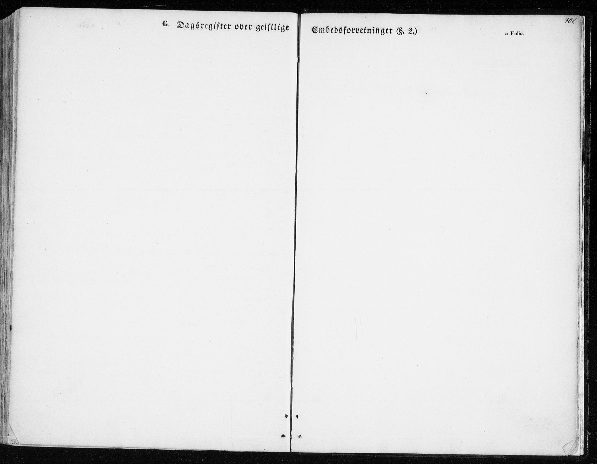 SATØ, Balsfjord sokneprestembete, Parish register (official) no. 3, 1856-1870, p. 301