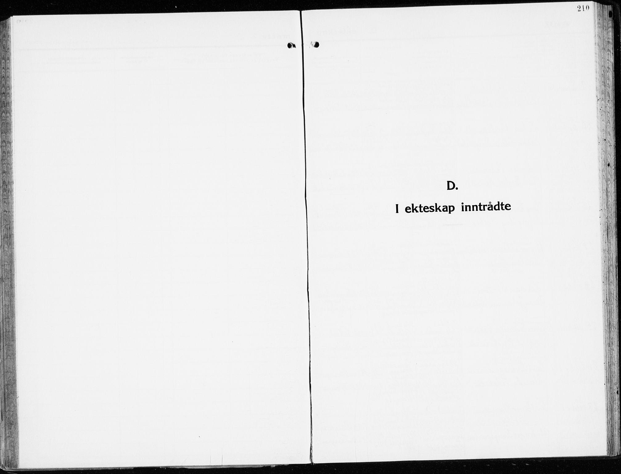 SAH, Stange prestekontor, K/L0027: Parish register (official) no. 27, 1937-1947, p. 210