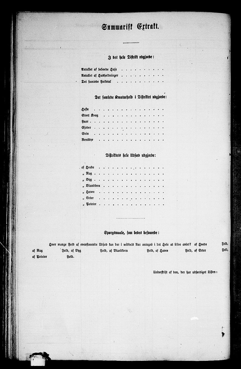 RA, 1865 census for Nesset, 1865, p. 84