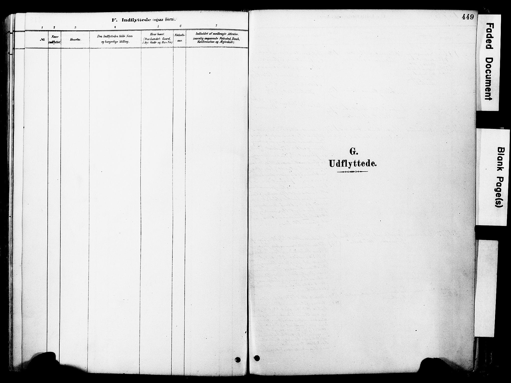 SAT, Ministerialprotokoller, klokkerbøker og fødselsregistre - Møre og Romsdal, 560/L0721: Parish register (official) no. 560A05, 1878-1917, p. 449