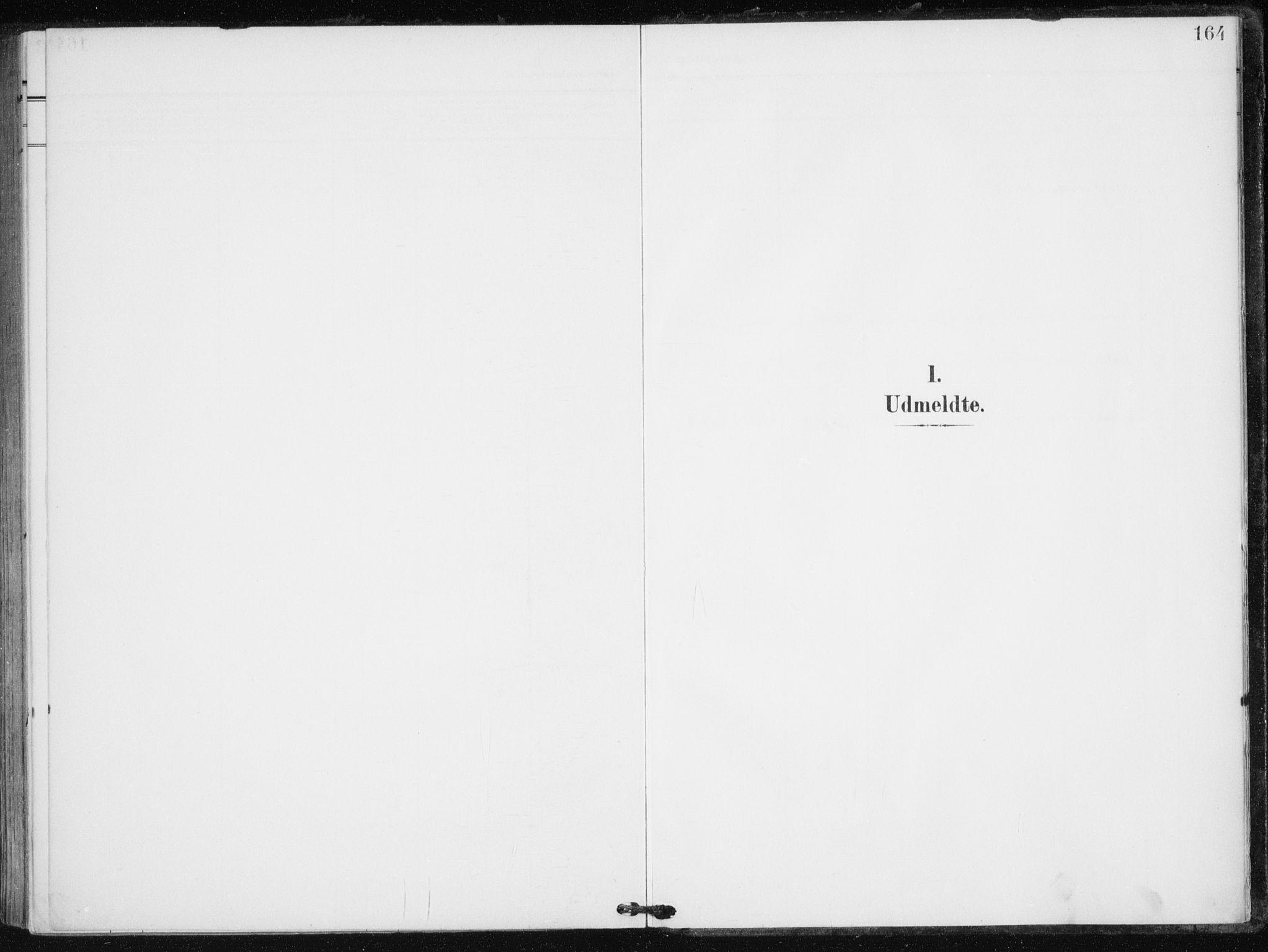 SATØ, Tranøy sokneprestkontor, I/Ia/Iaa/L0013kirke: Parish register (official) no. 13, 1905-1922, p. 164