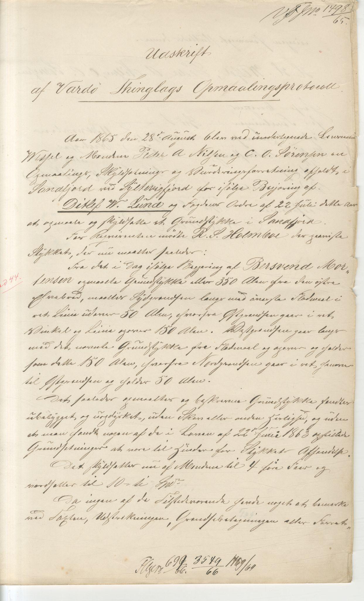 VAMU, Brodtkorb handel A/S, Q/Qb/L0003: Faste eiendommer i Vardø Herred, 1862-1939, p. 241