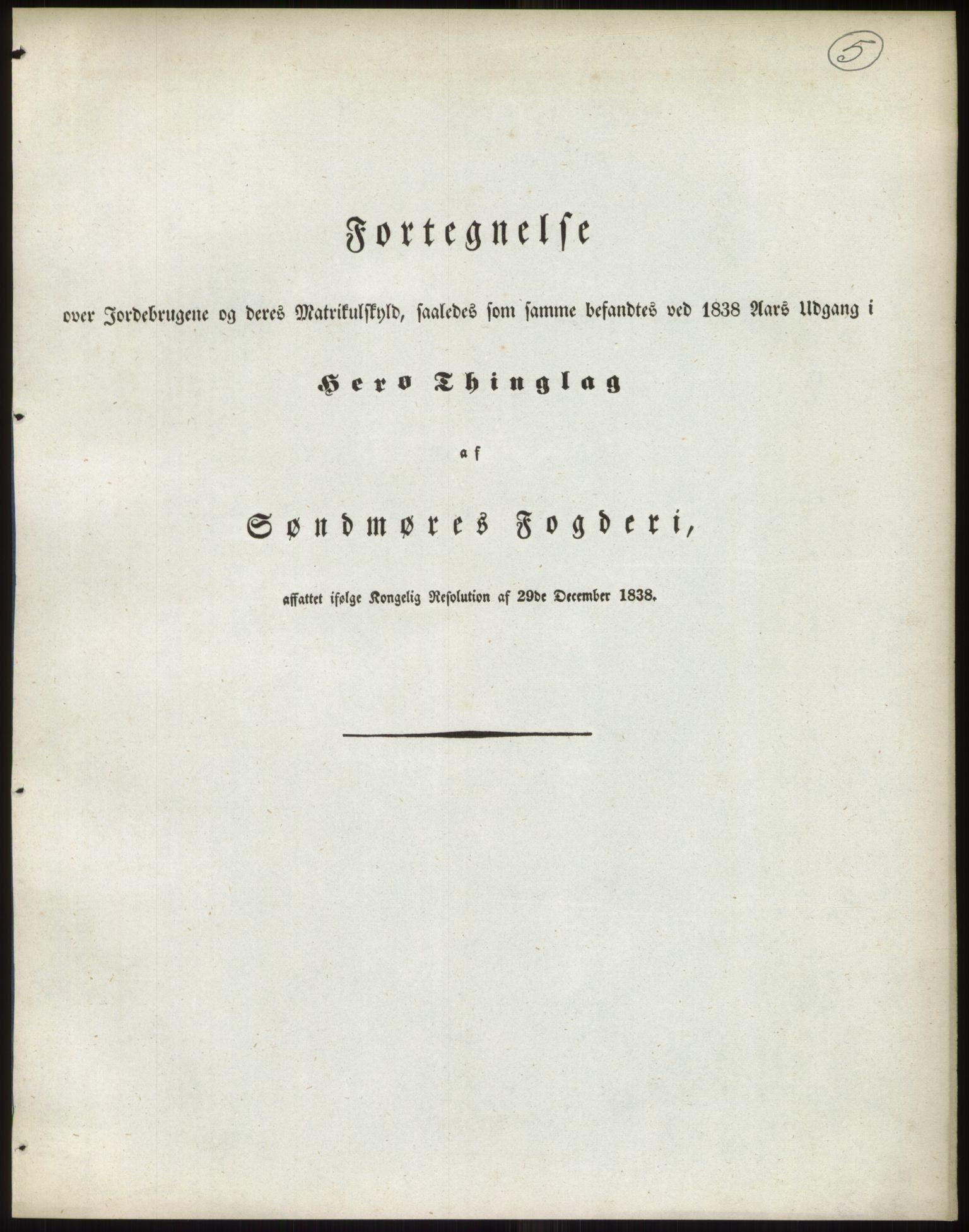 PUBL, Andre publikasjoner, -/Bind 14: Romsdals amt, 1838, p. 9