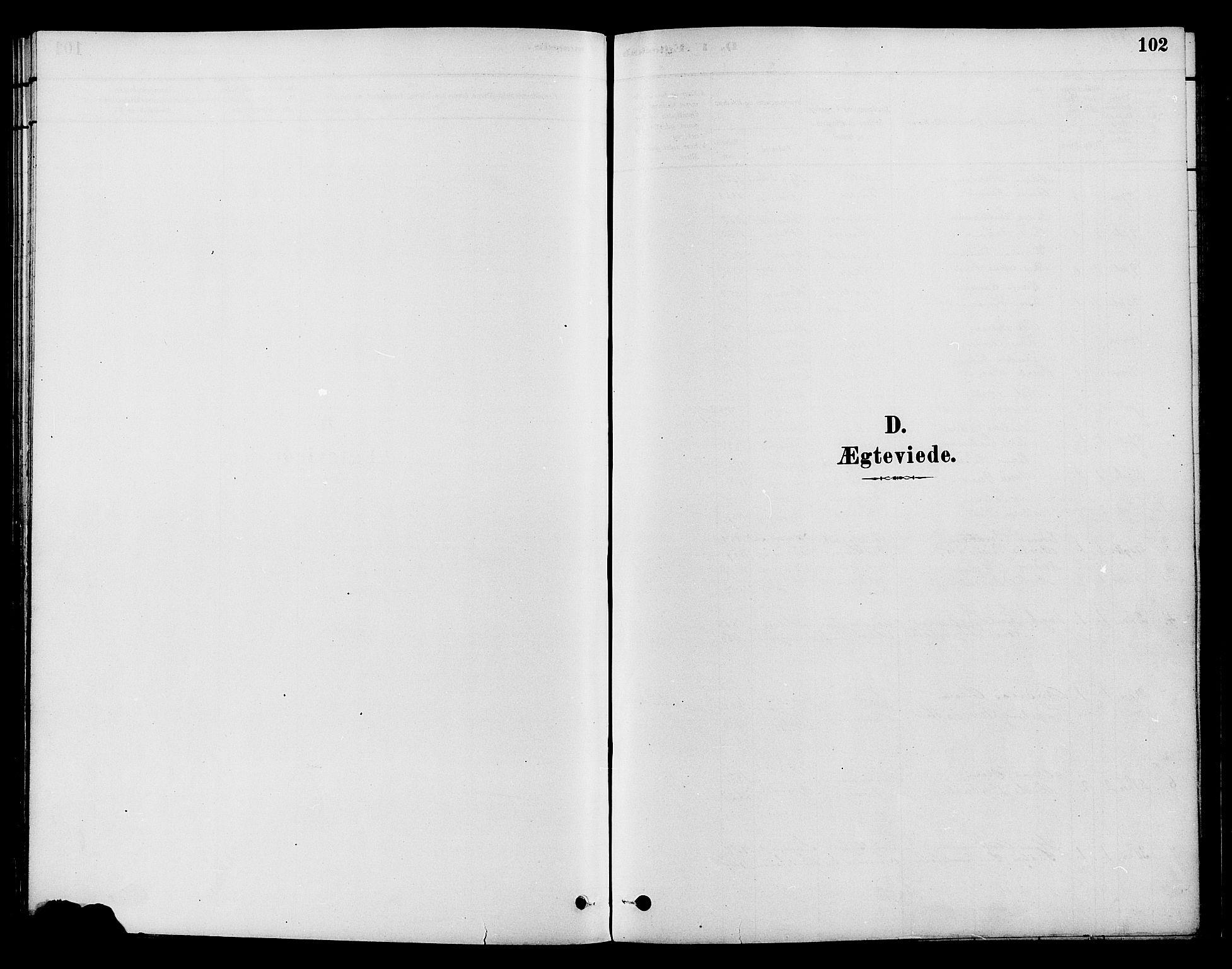SAH, Gran prestekontor, Parish register (official) no. 15, 1880-1888, p. 102