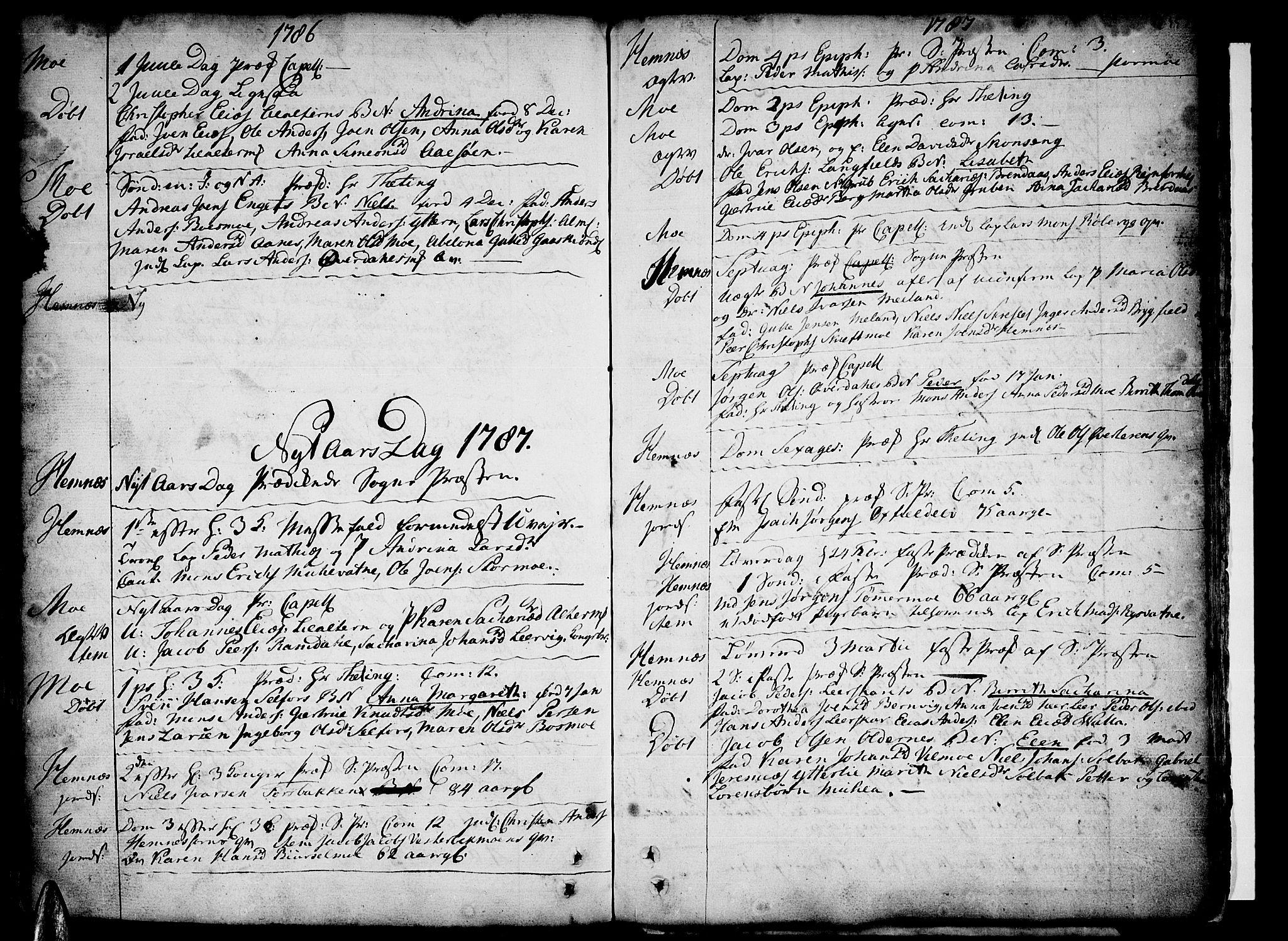 SAT, Ministerialprotokoller, klokkerbøker og fødselsregistre - Nordland, 825/L0348: Parish register (official) no. 825A04, 1752-1788, p. 357