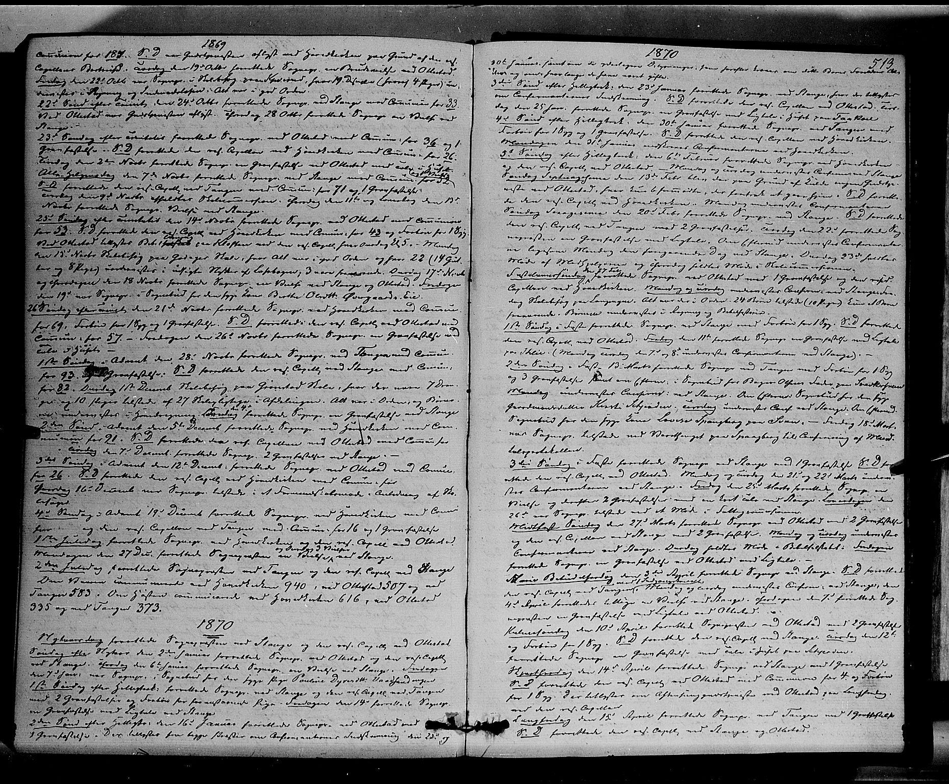 SAH, Stange prestekontor, K/L0013: Parish register (official) no. 13, 1862-1879, p. 513