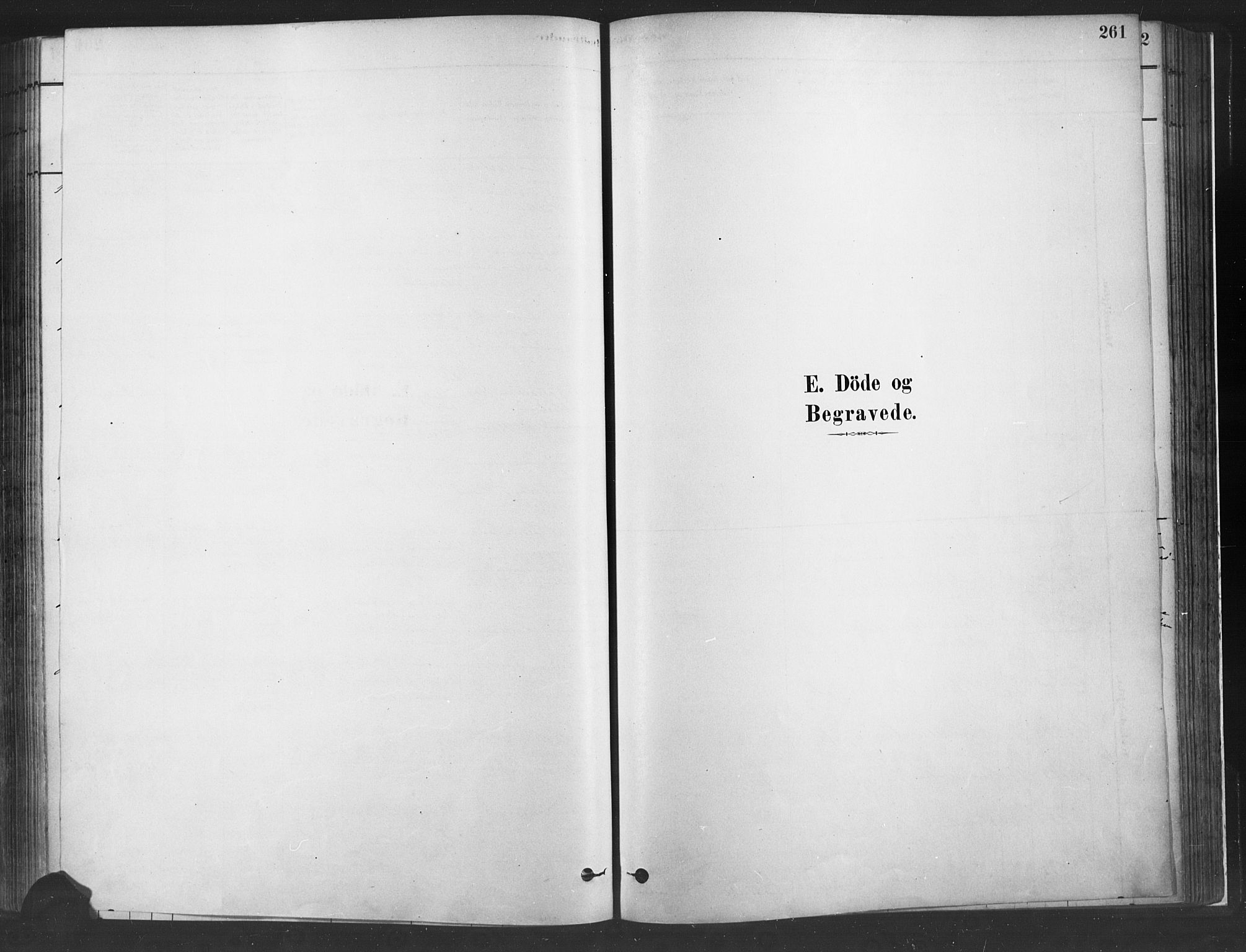 SAH, Fåberg prestekontor, H/Ha/Haa/L0010: Parish register (official) no. 10, 1879-1900, p. 261