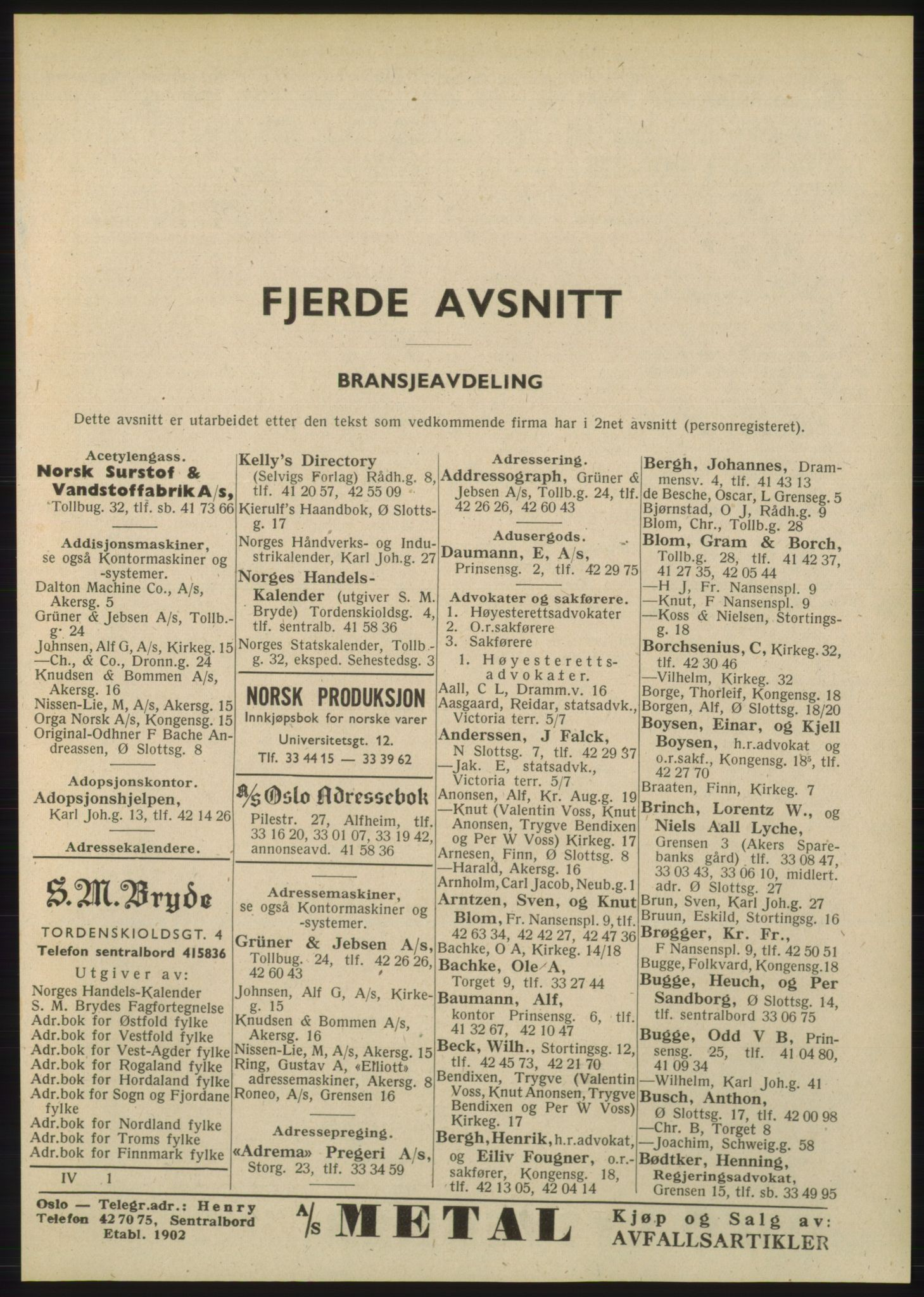 PUBL, Kristiania/Oslo adressebok, 1948, p. 2313