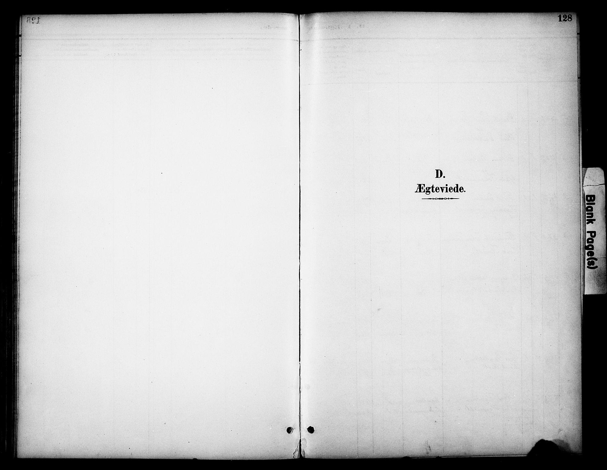 SAH, Dovre prestekontor, Parish register (official) no. 3, 1891-1901, p. 128