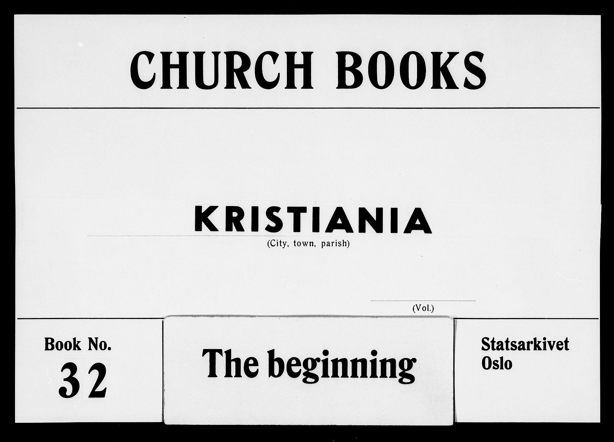 SAO, Garnisonsmenigheten Kirkebøker, F/Fa/L0005: Parish register (official) no. 5, 1824-1830
