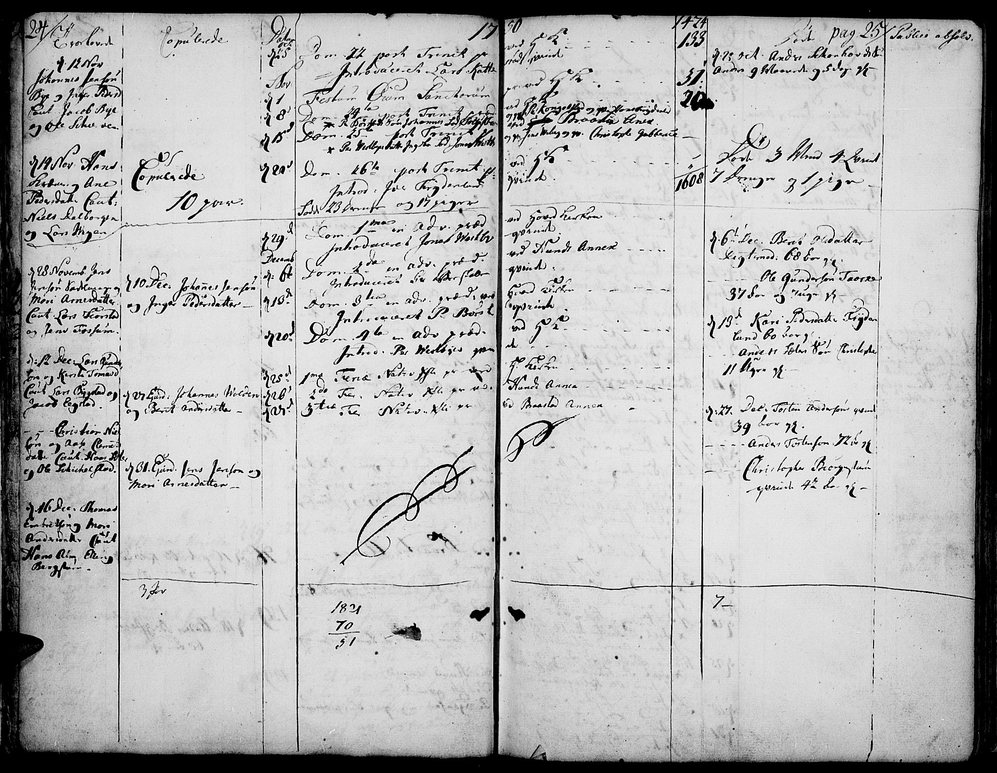SAH, Vardal prestekontor, H/Ha/Haa/L0002: Parish register (official) no. 2, 1748-1776, p. 24-25