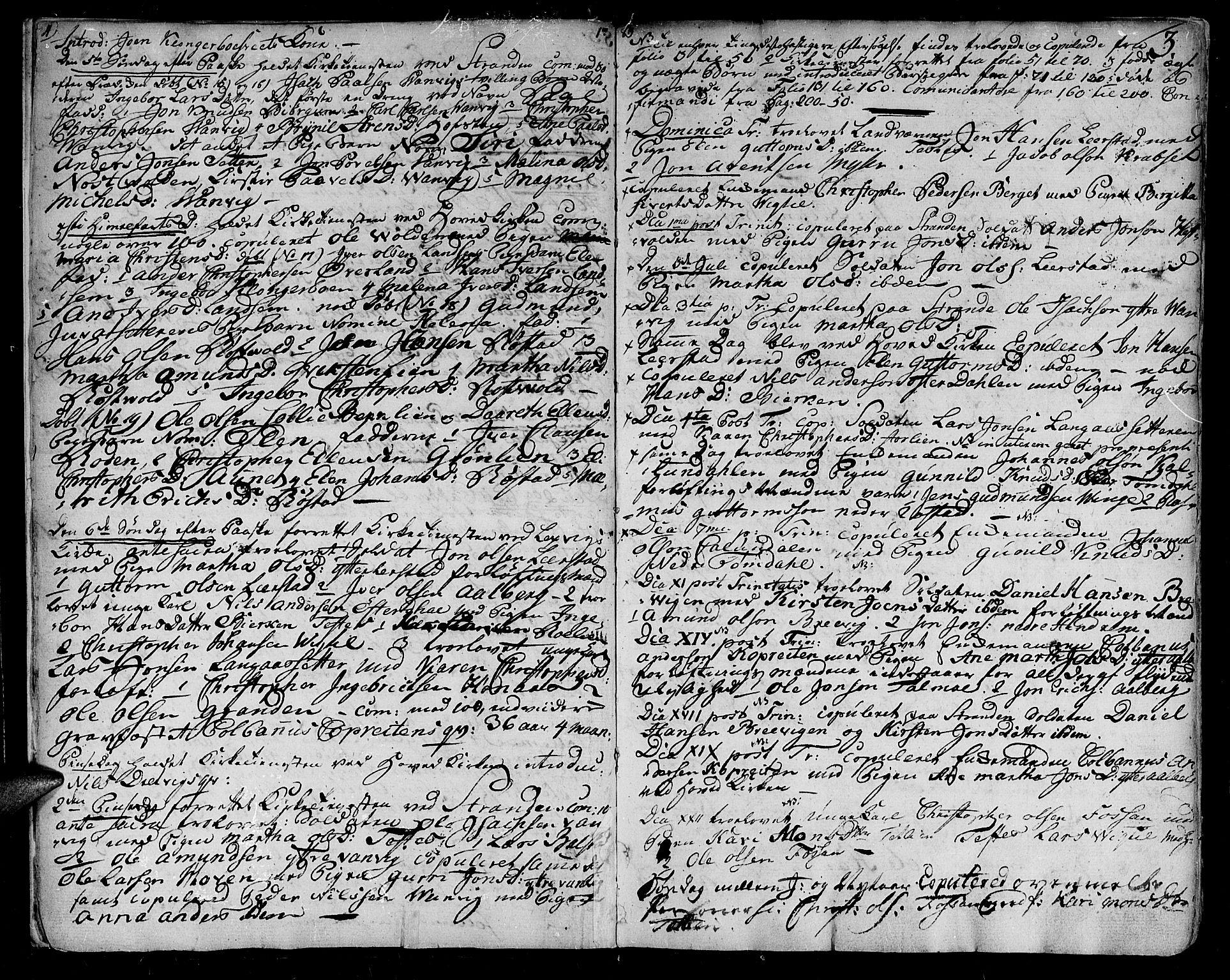 SAT, Ministerialprotokoller, klokkerbøker og fødselsregistre - Nord-Trøndelag, 701/L0004: Parish register (official) no. 701A04, 1783-1816, p. 3