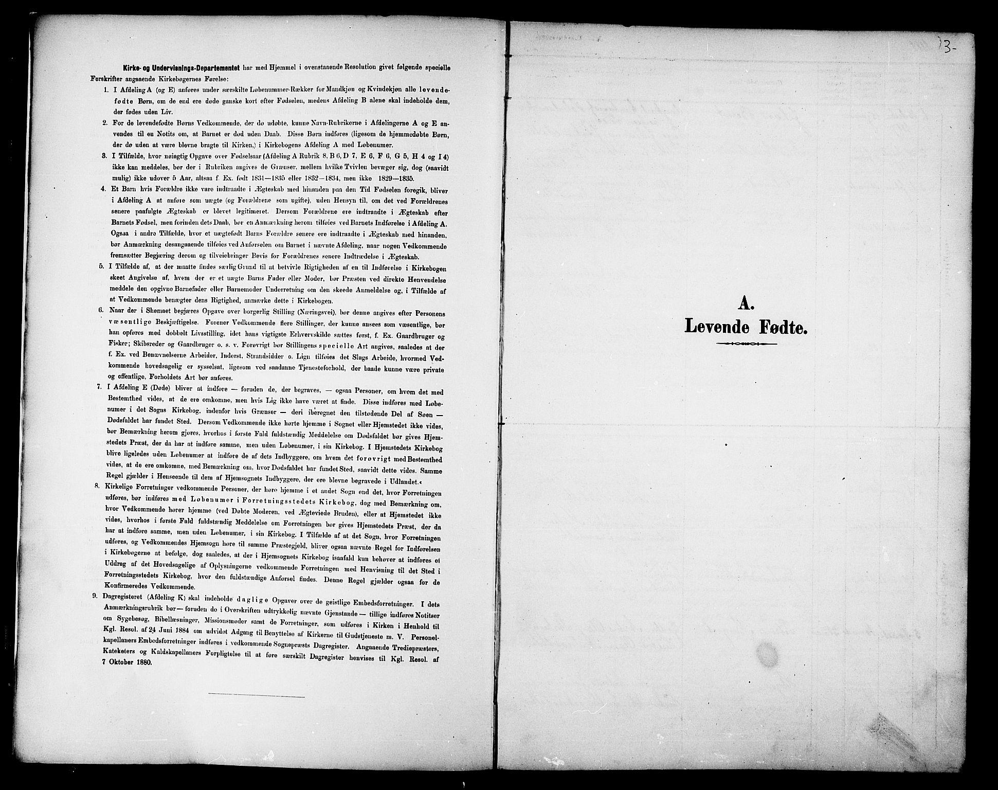 SAT, Ministerialprotokoller, klokkerbøker og fødselsregistre - Nord-Trøndelag, 733/L0327: Parish register (copy) no. 733C02, 1888-1918, p. 3