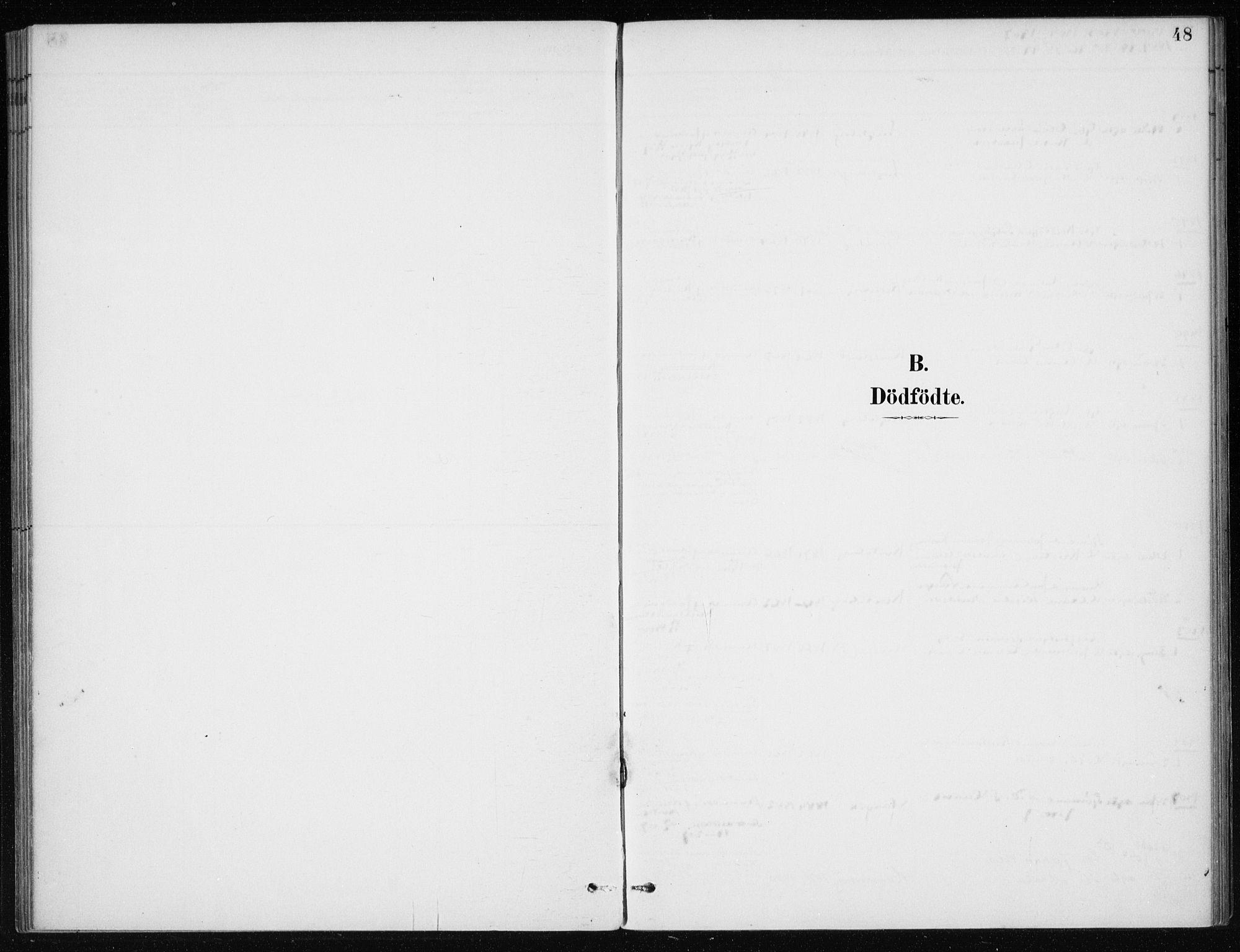 SAB, Kvinnherad Sokneprestembete, H/Haa: Parish register (official) no. E 1, 1887-1912, p. 48