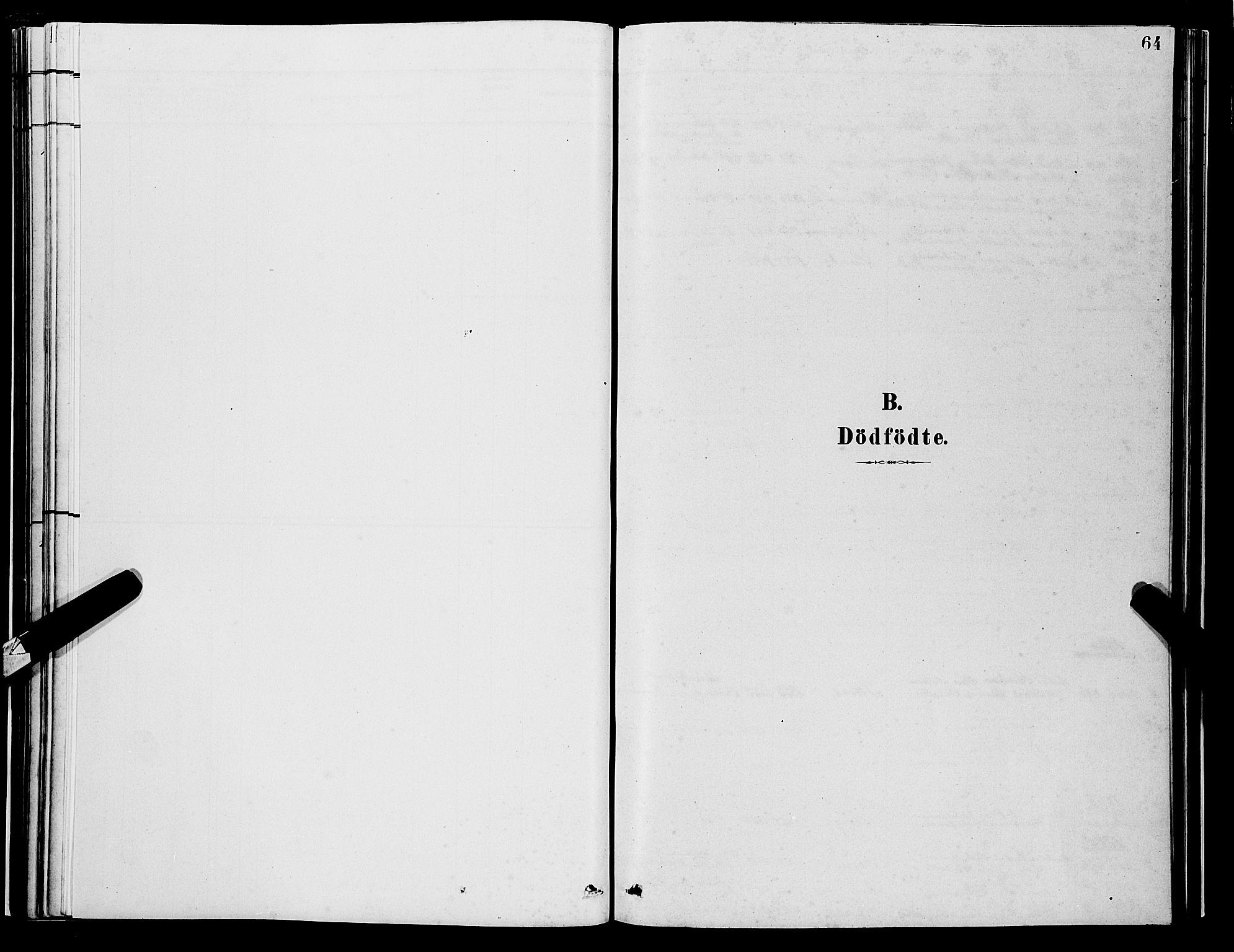 SAB, Os sokneprestembete*, Parish register (copy) no. A 2, 1880-1896, p. 64