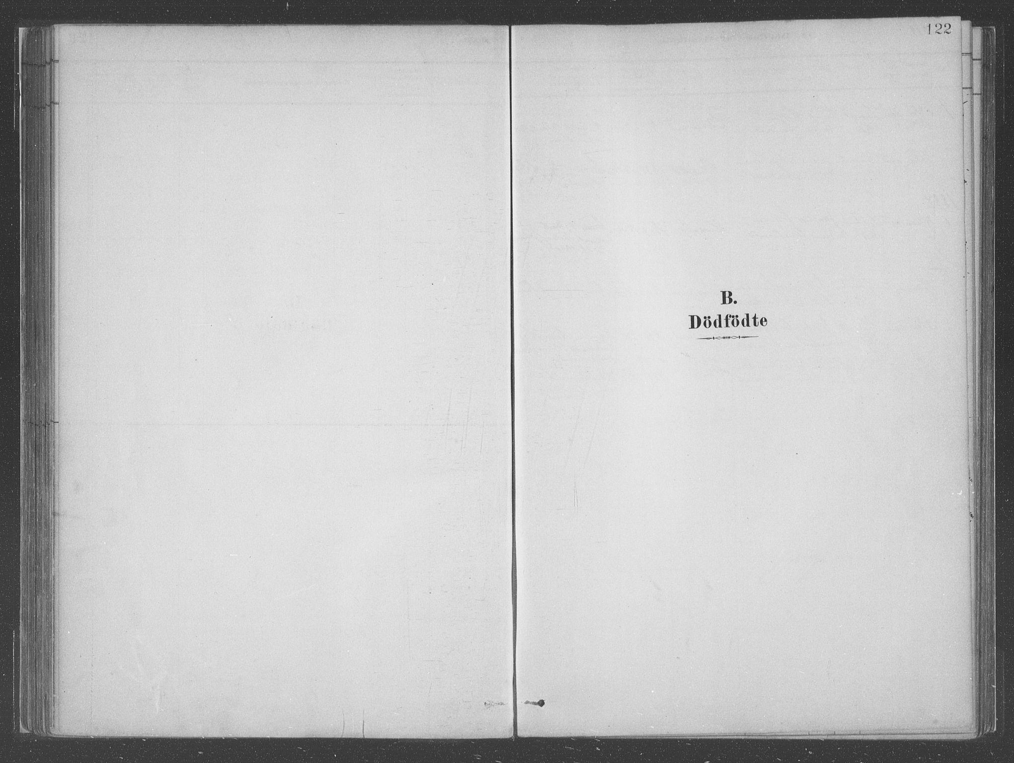 SAB, Askvoll sokneprestembete, H/Haa/Haac/L0001: Parish register (official) no. C  1, 1879-1922, p. 122