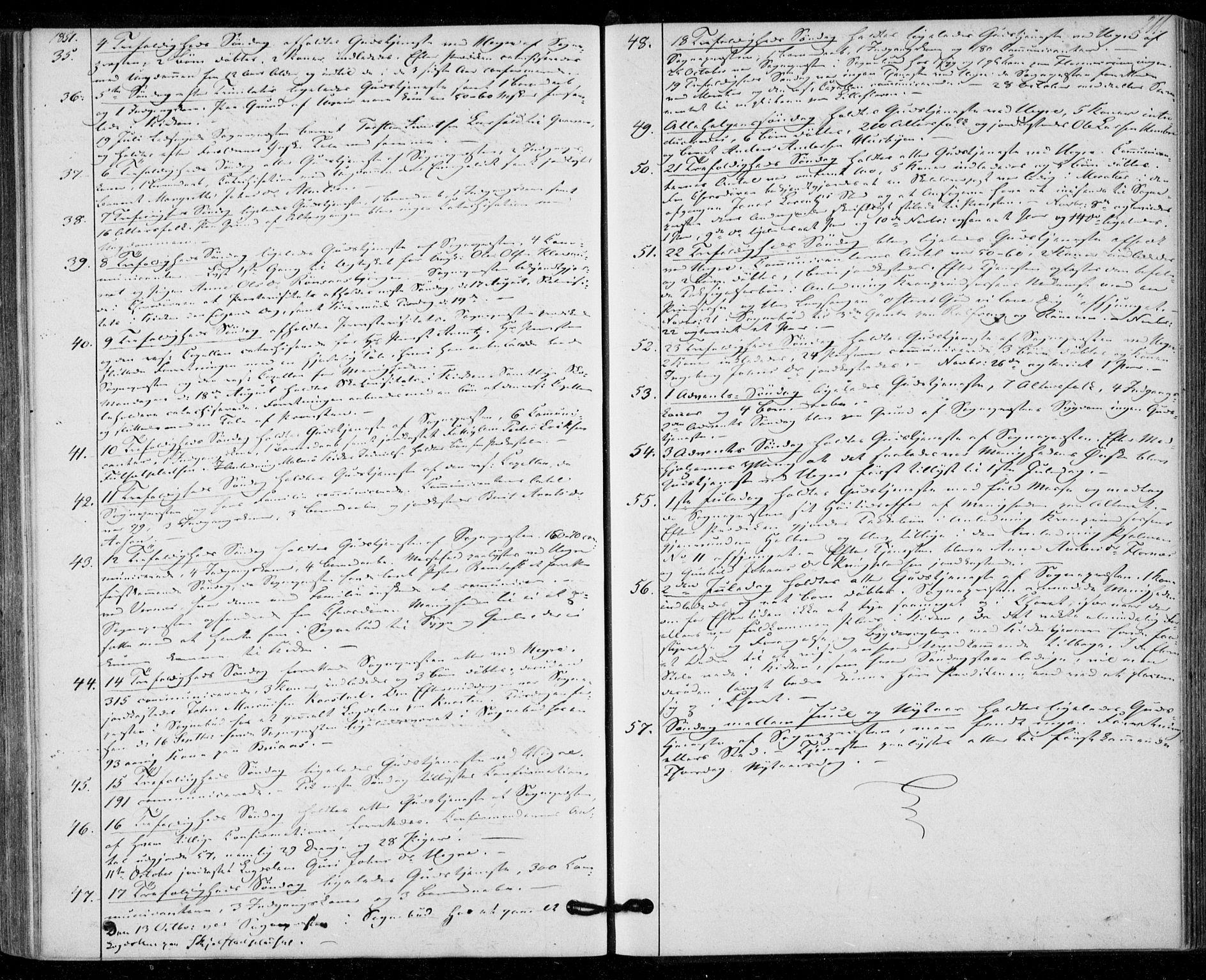 SAT, Ministerialprotokoller, klokkerbøker og fødselsregistre - Nord-Trøndelag, 703/L0028: Parish register (official) no. 703A01, 1850-1862, p. 211