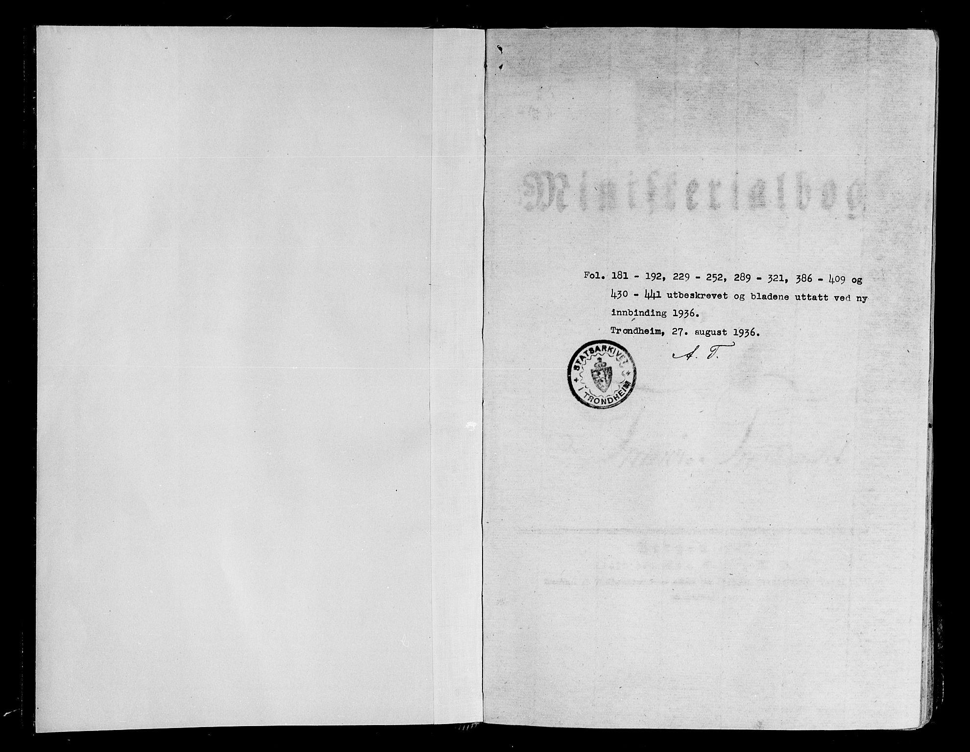 SATØ, Tranøy sokneprestkontor, I/Ia/Iaa/L0005kirke: Parish register (official) no. 5, 1829-1844