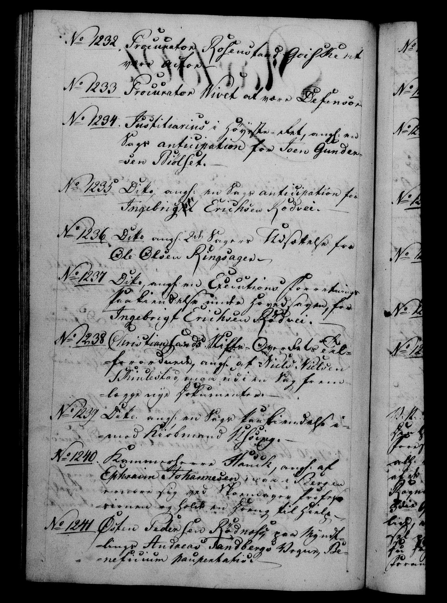 RA, Danske Kanselli 1800-1814, H/Hf/Hfb/Hfba/L0001: Registranter, 1800-1801, p. 345b
