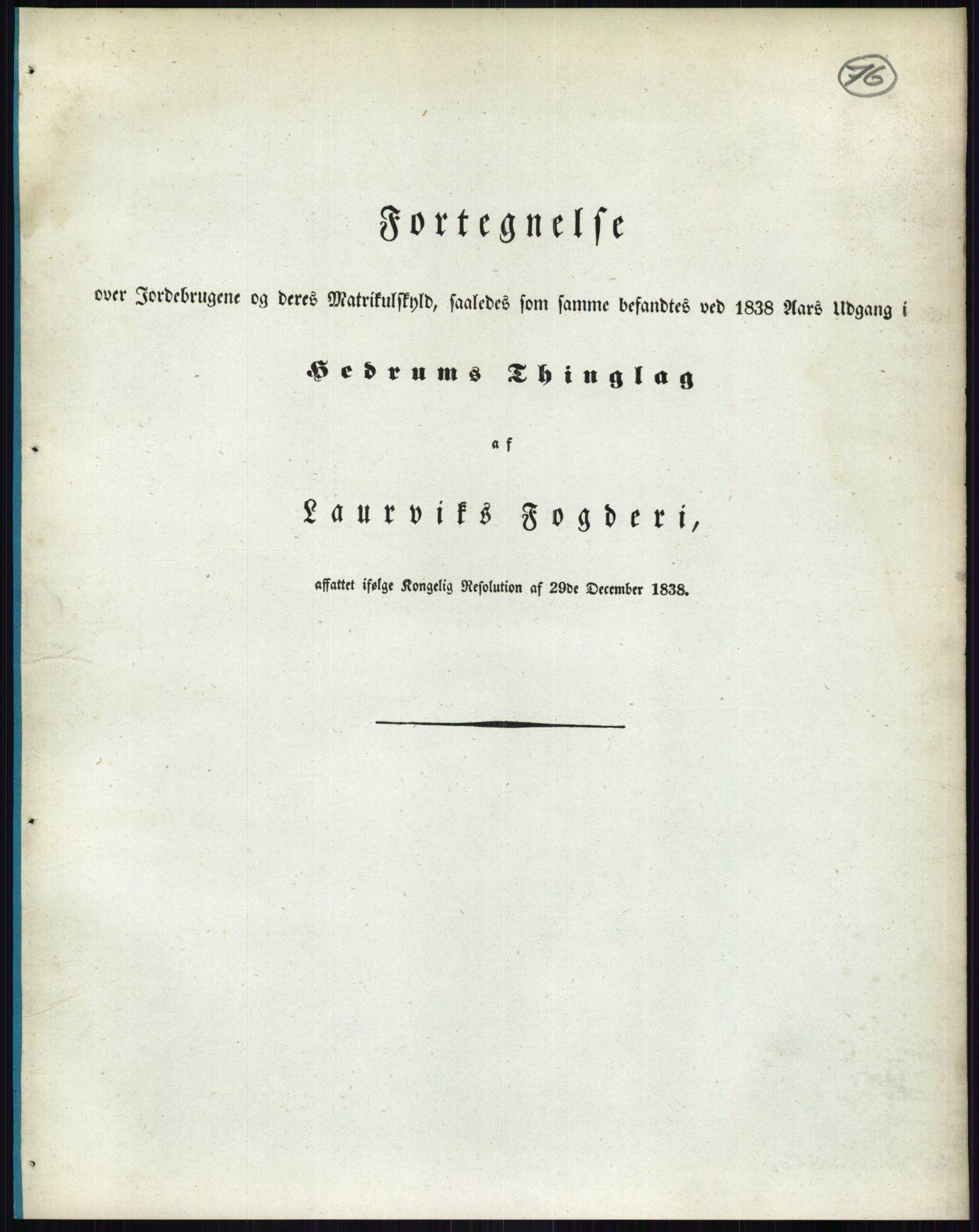 PUBL, Andre publikasjoner, -/Bind 6: Jarlsberg og Larvik amt, 1838, p. 136