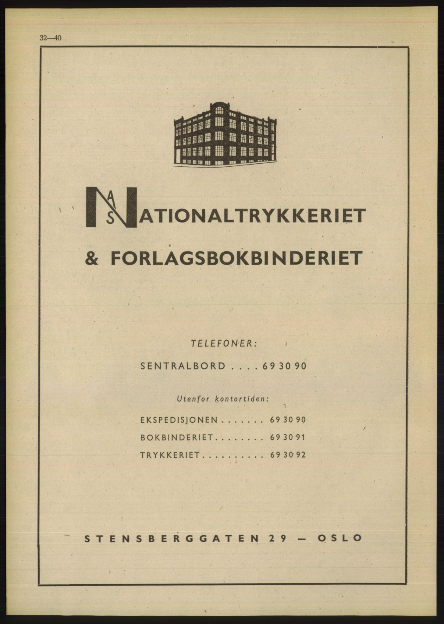 PUBL, Kristiania/Oslo adressebok, 1948, p. 32