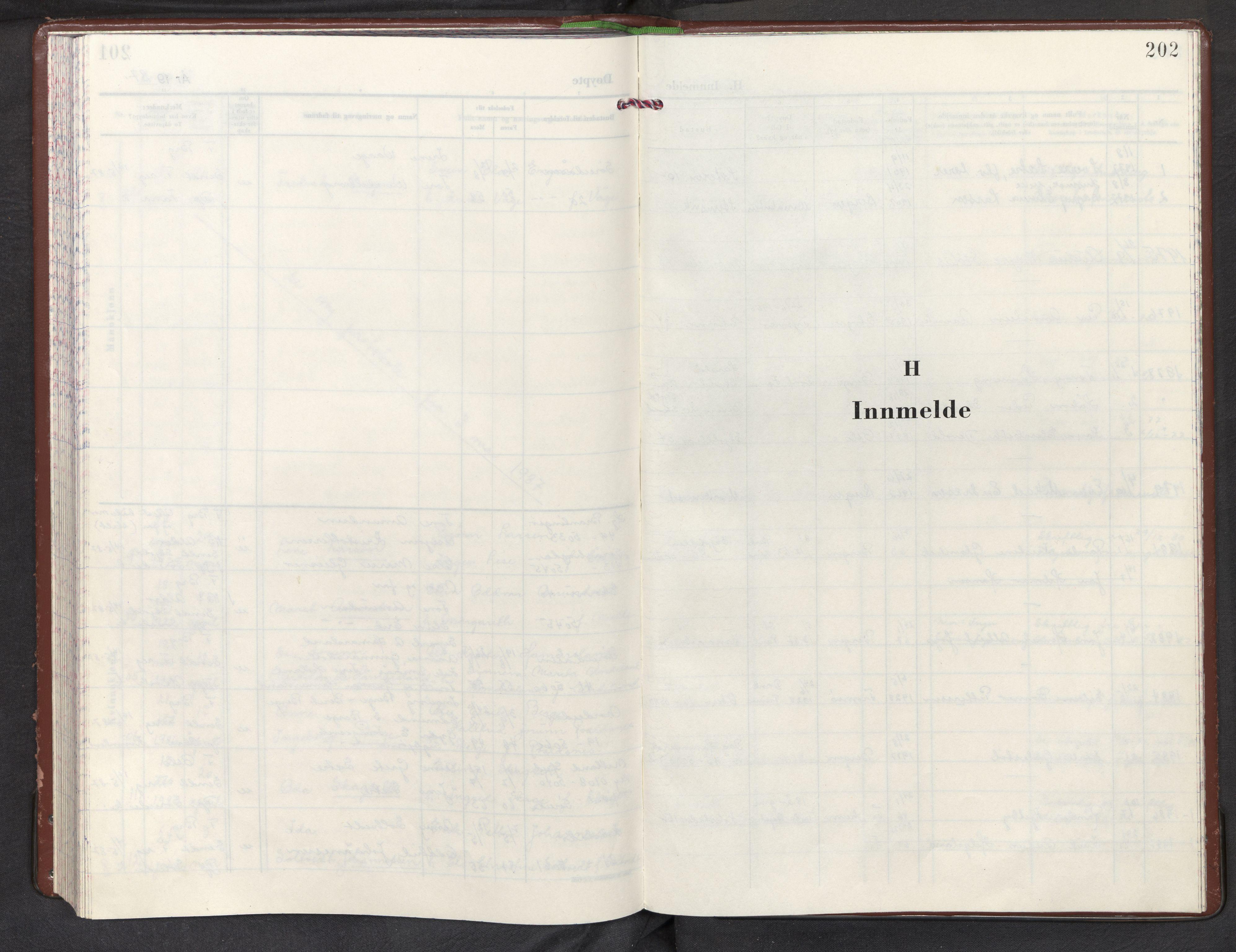 SAB, Nordås sokneprestembete, Parish register (official) no. A 1, 1971-1987, p. 202