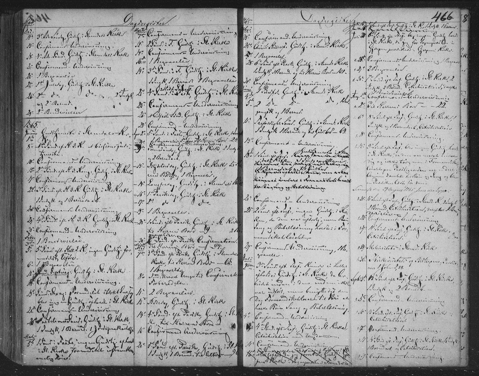 SAKO, Siljan kirkebøker, F/Fa/L0001: Parish register (official) no. 1, 1831-1870, p. 466
