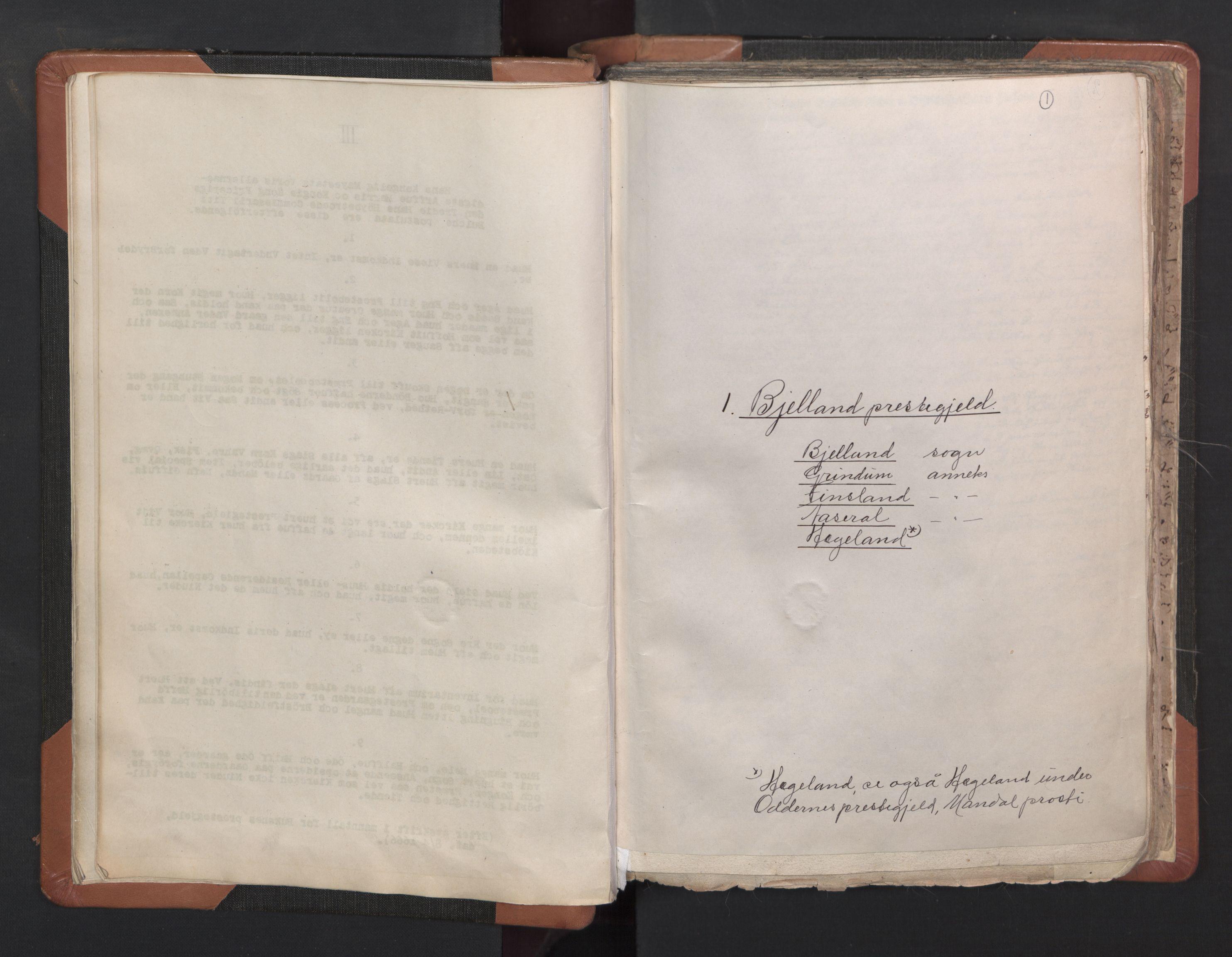RA, Vicar's Census 1664-1666, no. 16: Lista deanery, 1664-1666, p. 1
