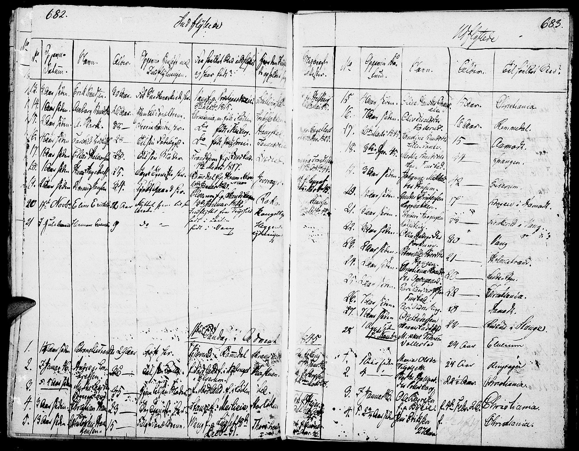 SAH, Løten prestekontor, K/Ka/L0006: Parish register (official) no. 6, 1832-1849, p. 682-683