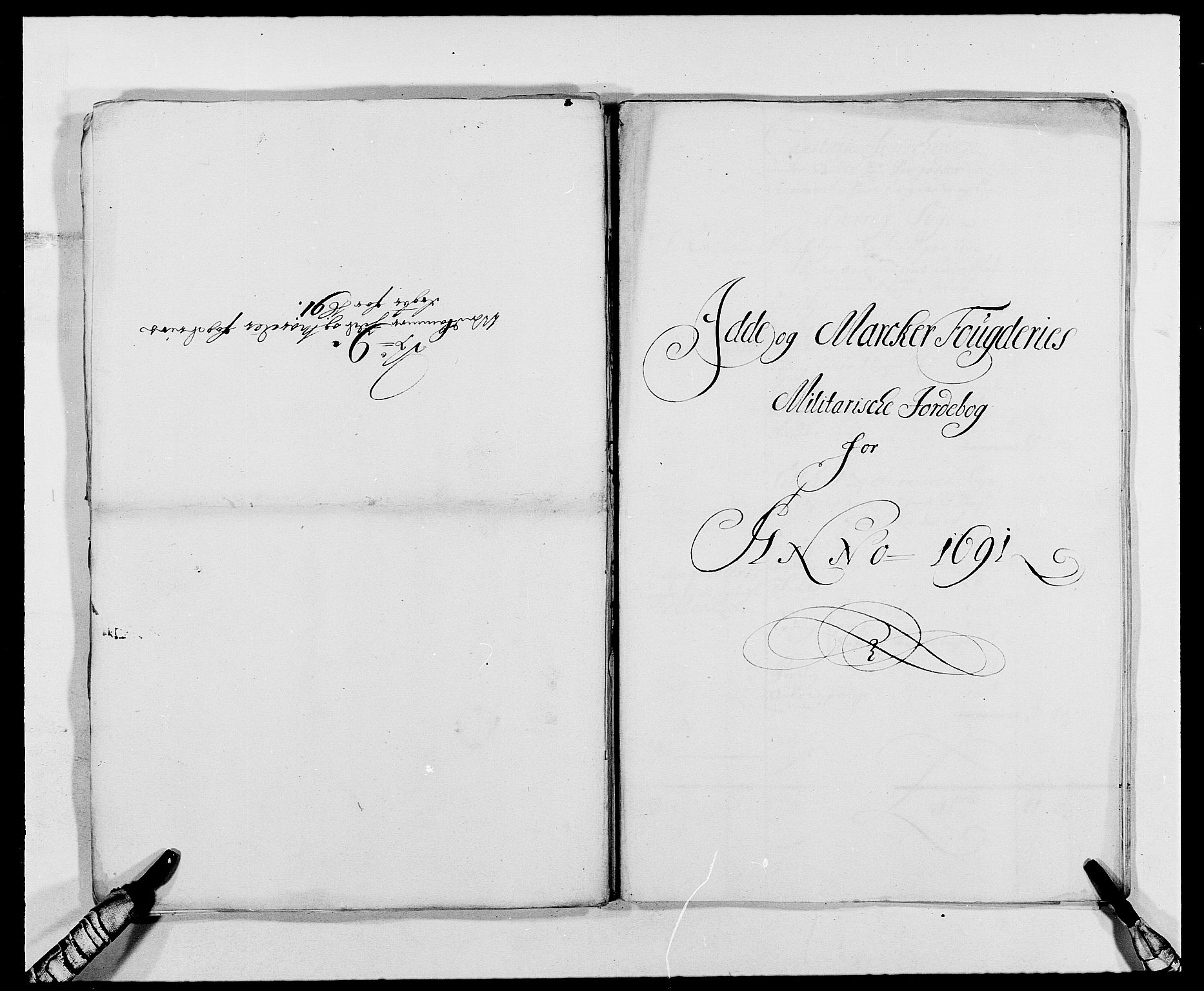 RA, Rentekammeret inntil 1814, Reviderte regnskaper, Fogderegnskap, R01/L0010: Fogderegnskap Idd og Marker, 1690-1691, p. 80