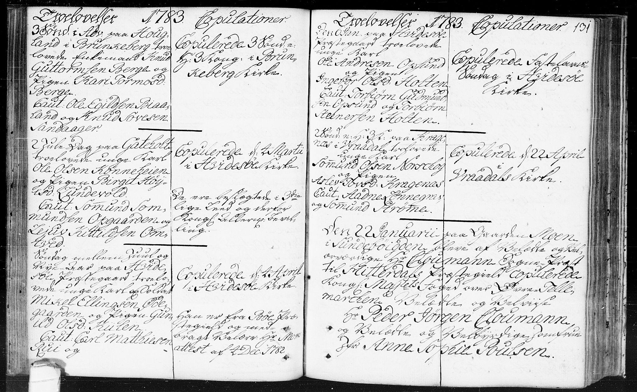 SAKO, Kviteseid kirkebøker, F/Fa/L0002: Parish register (official) no. I 2, 1773-1786, p. 131