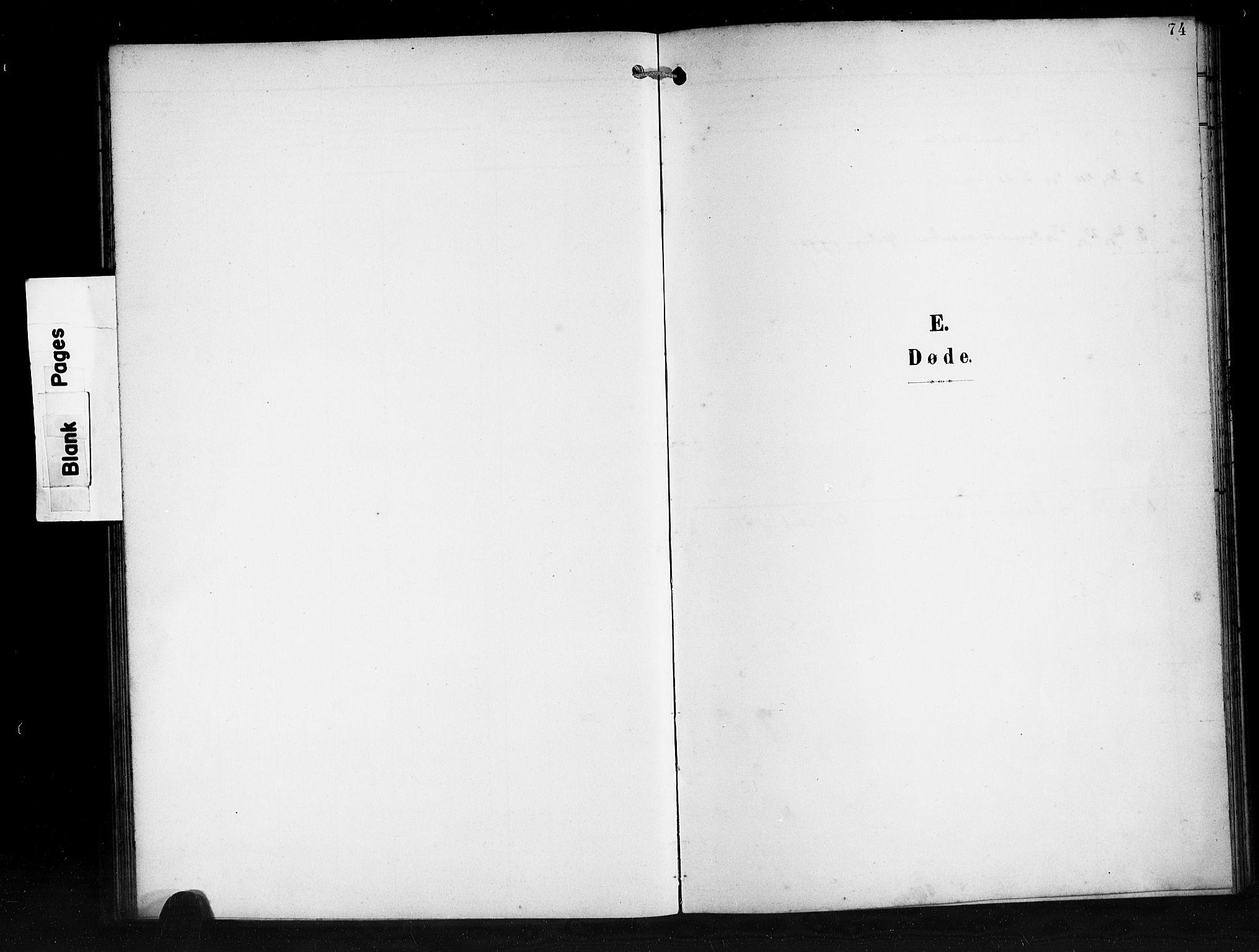 SAB, Den norske sjømannsmisjon i utlandet/Syd-Amerika (Buenos Aires m.fl.), H/Ha/L0002: Parish register (official) no. A 2, 1899-1919, p. 74
