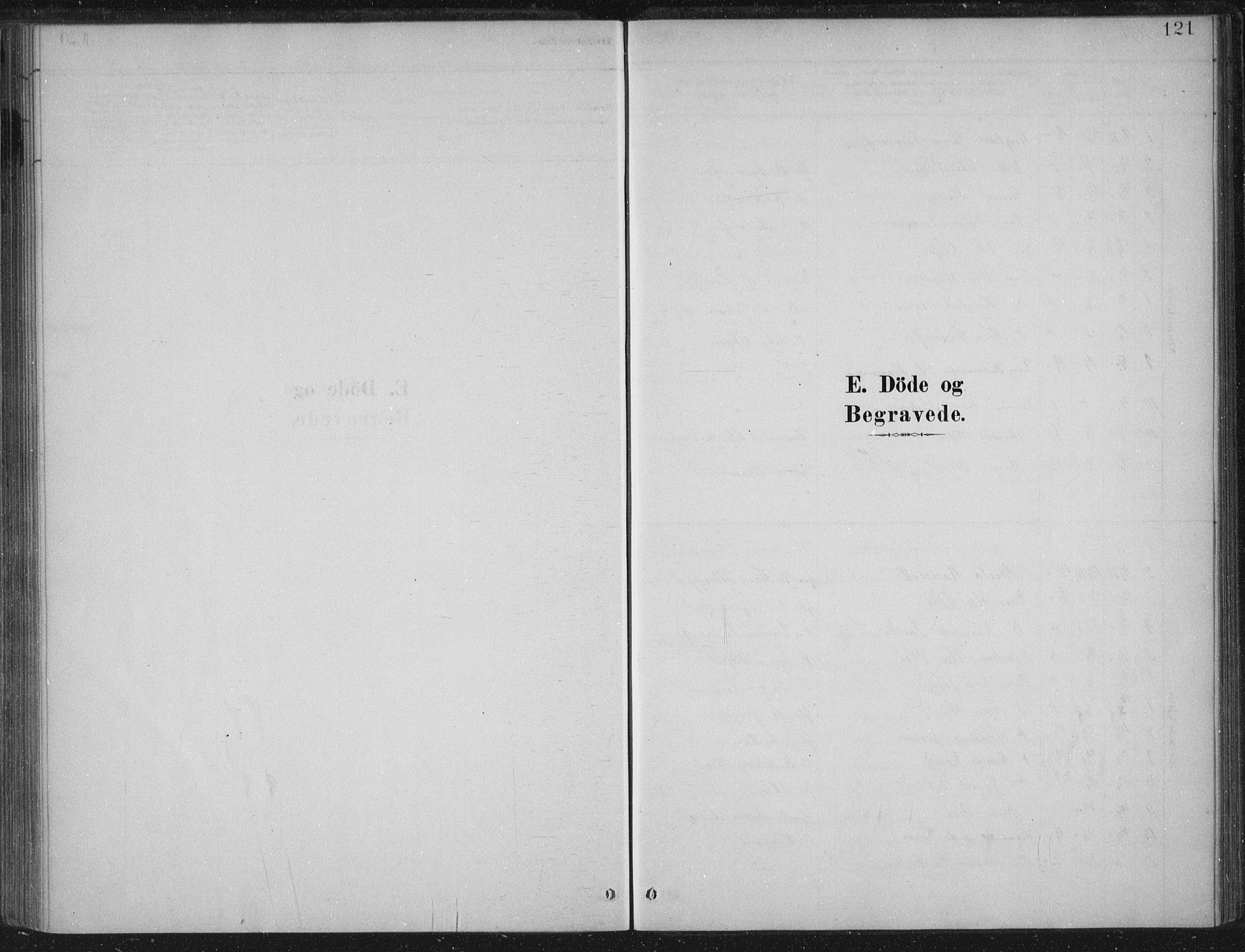 SAB, Lærdal Sokneprestembete, Parish register (official) no. C  1, 1878-1911, p. 121