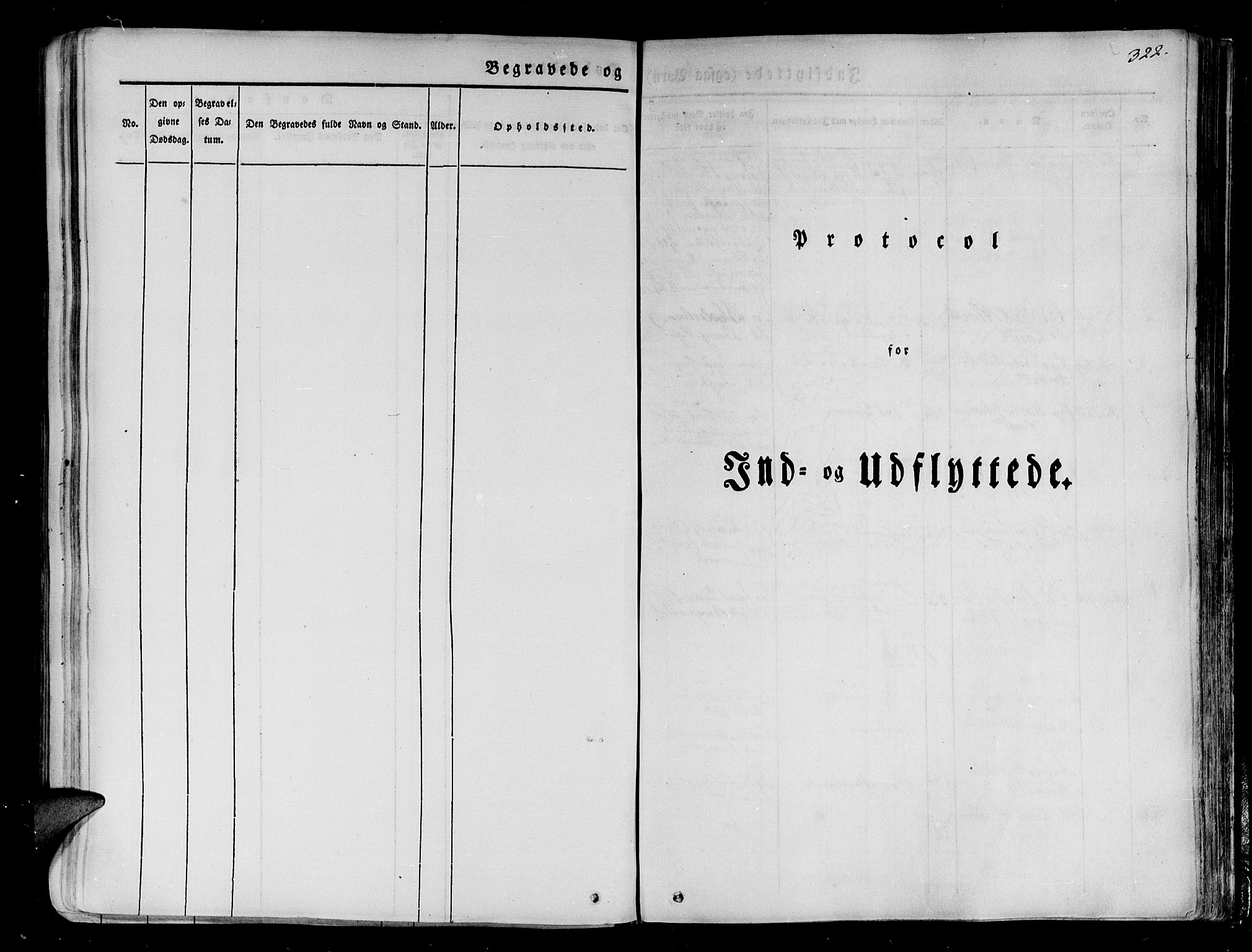 SATØ, Tranøy sokneprestkontor, I/Ia/Iaa/L0005kirke: Parish register (official) no. 5, 1829-1844, p. 322