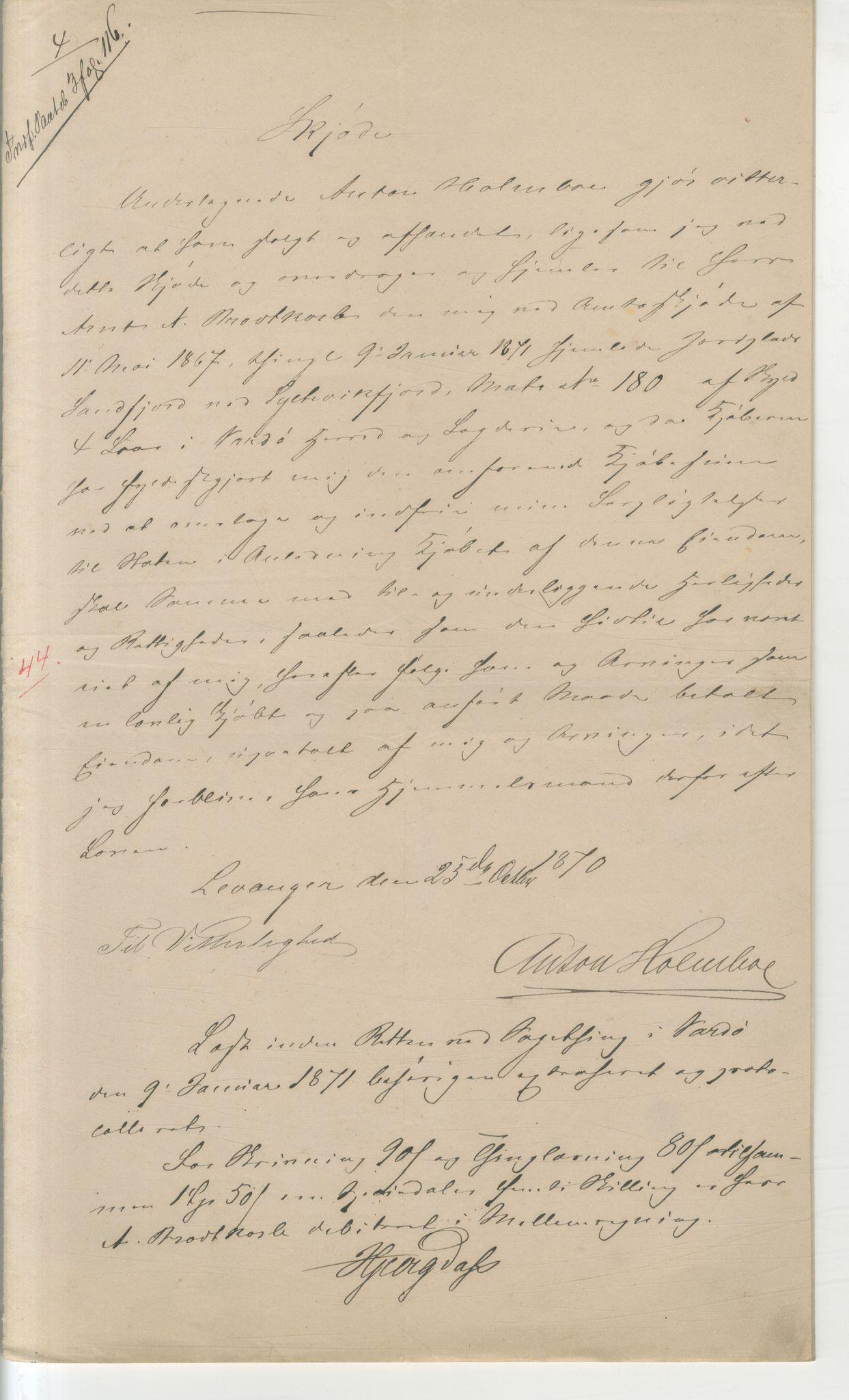 VAMU, Brodtkorb handel A/S, Q/Qb/L0003: Faste eiendommer i Vardø Herred, 1862-1939, p. 240