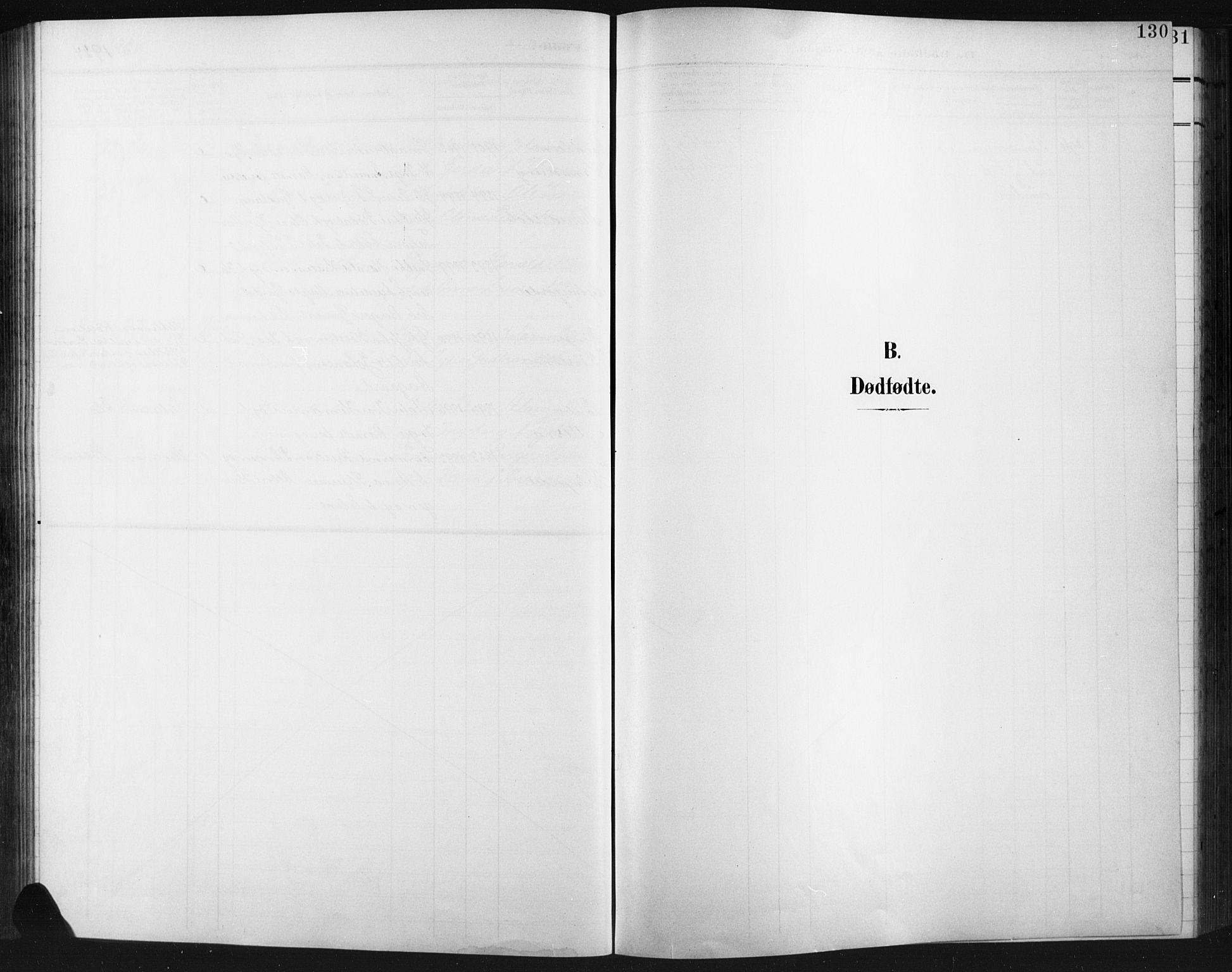 SAH, Fåberg prestekontor, H/Ha/Hab/L0012: Parish register (copy) no. 12, 1903-1924, p. 130