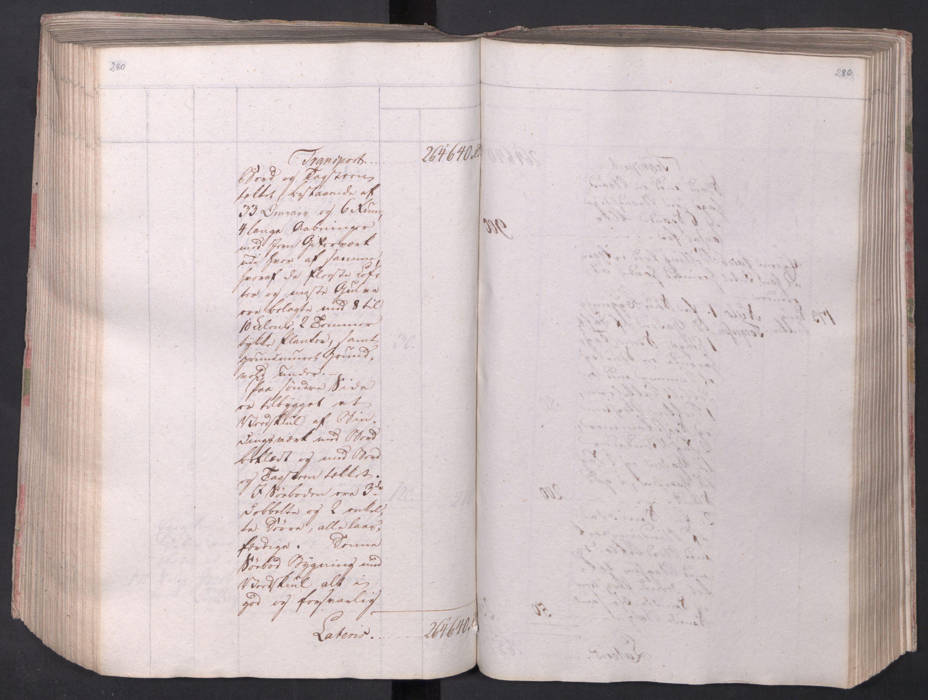 SAO, Kristiania stiftamt, I/Ia/L0015: Branntakster, 1797, p. 280