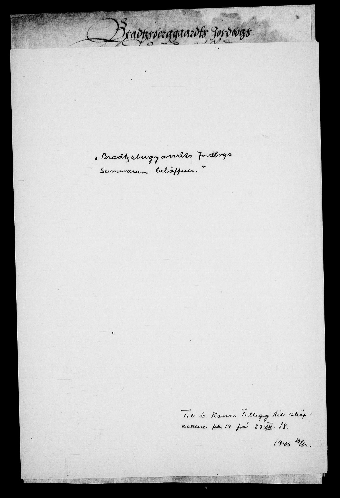 RA, Danske Kanselli, Skapsaker, G/L0019: Tillegg til skapsakene, 1616-1753, p. 55