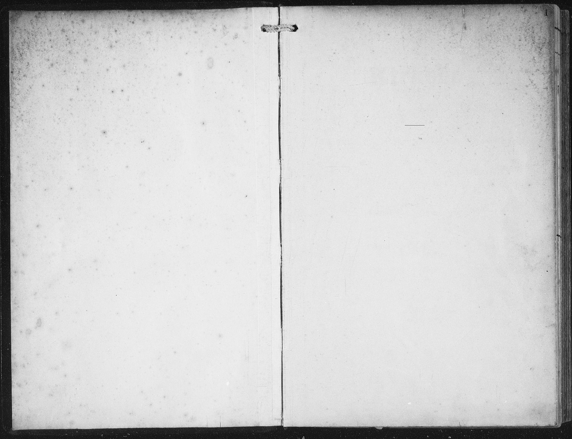 SAB, Bremanger Sokneprestembete, H/Haa: Parish register (official) no. B  2, 1896-1908, p. 1