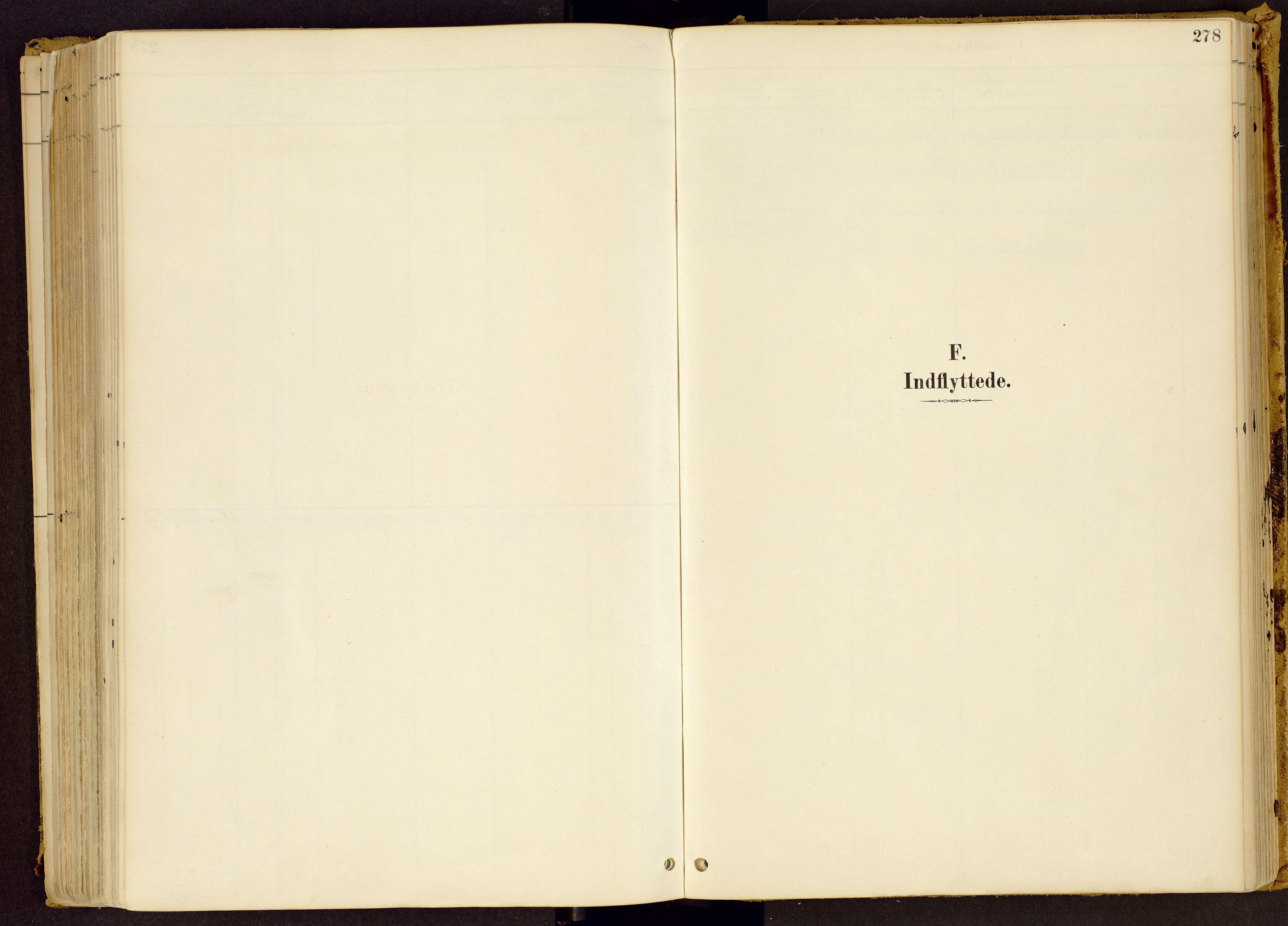 SAH, Vestre Gausdal prestekontor, Parish register (official) no. 1, 1887-1914, p. 278
